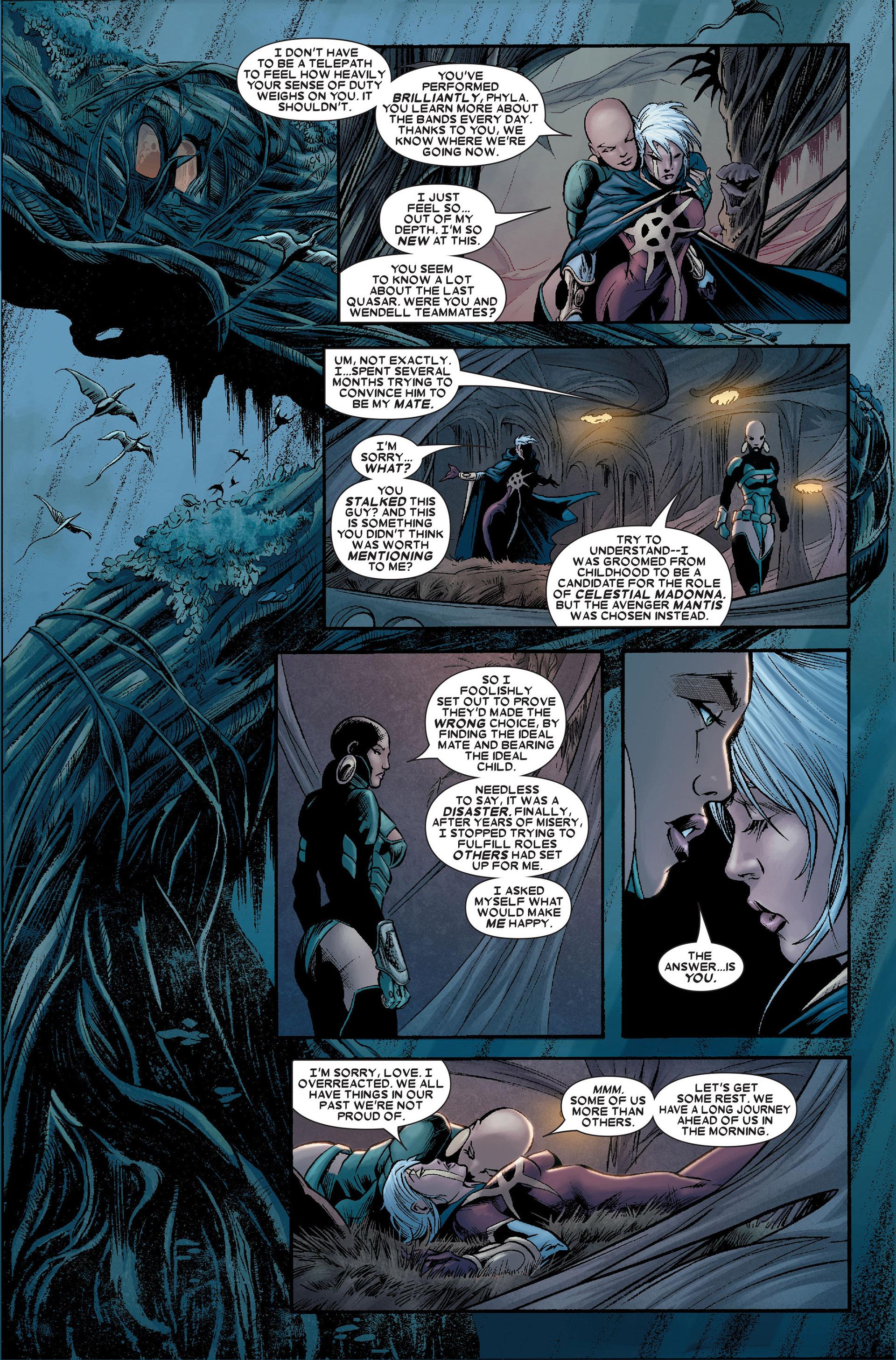 Read online Annihilation: Conquest - Quasar comic -  Issue #1 - 17