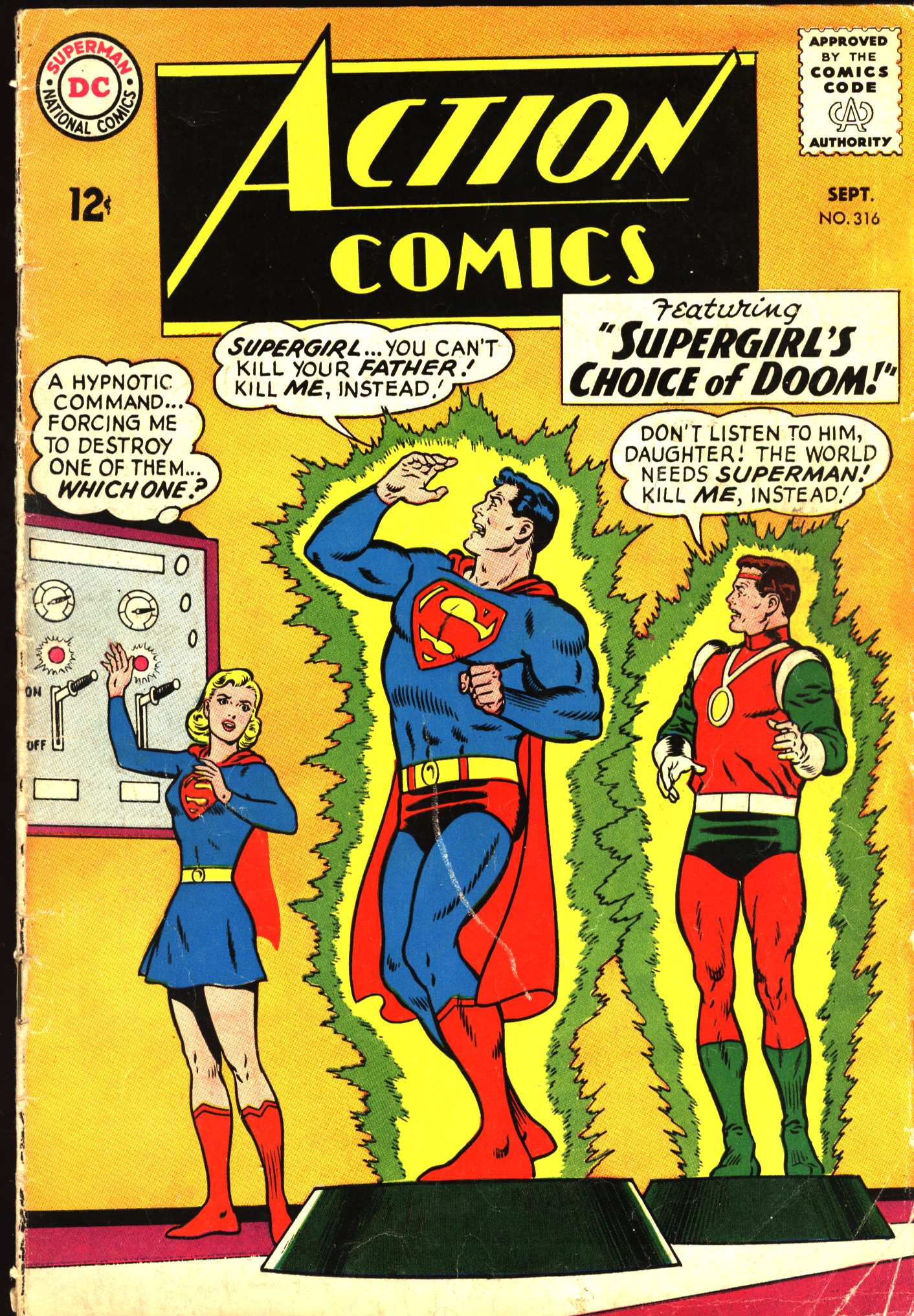 Read online Action Comics (1938) comic -  Issue #316 - 1
