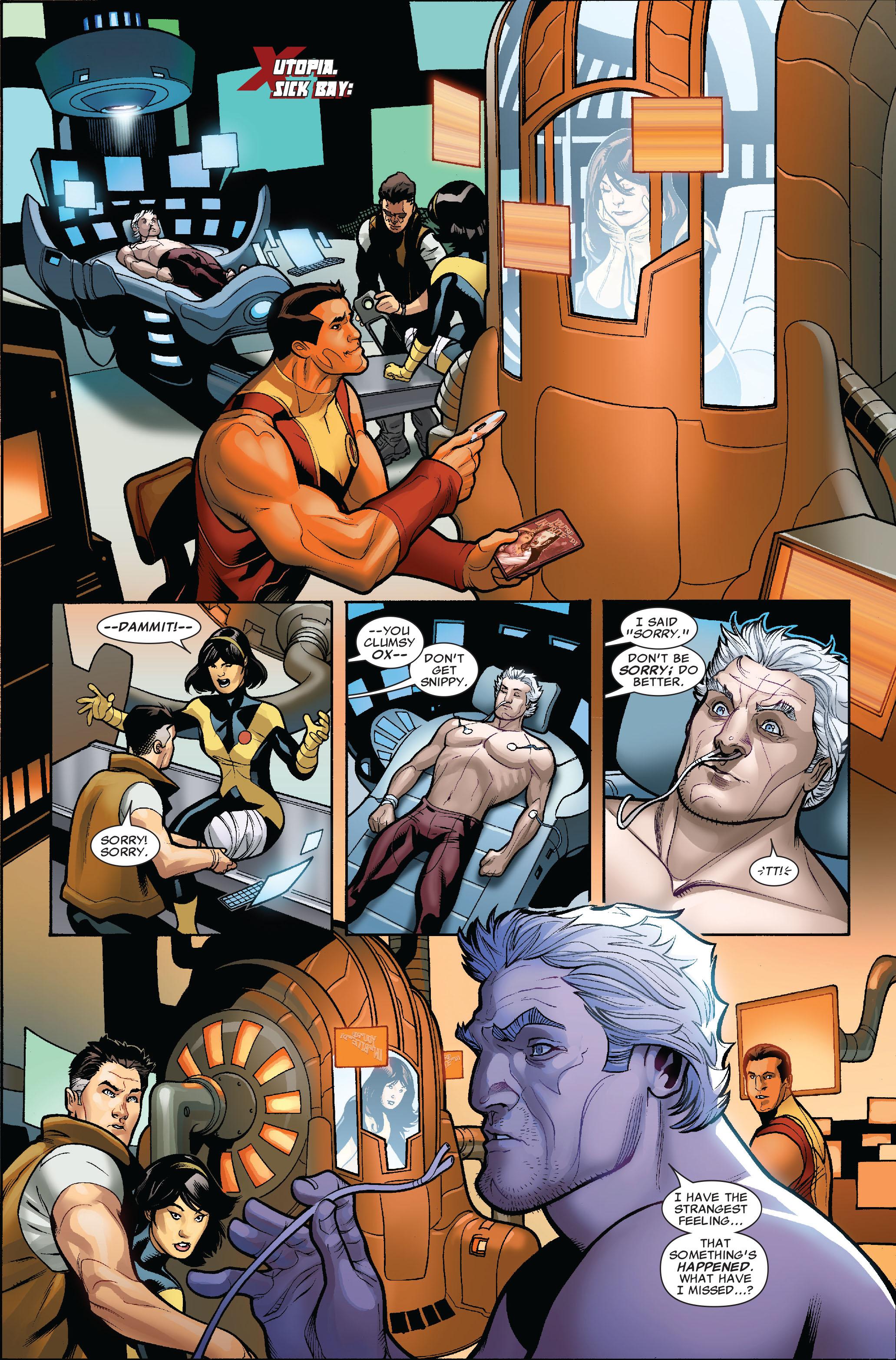Read online Uncanny X-Men (1963) comic -  Issue #524 - 3