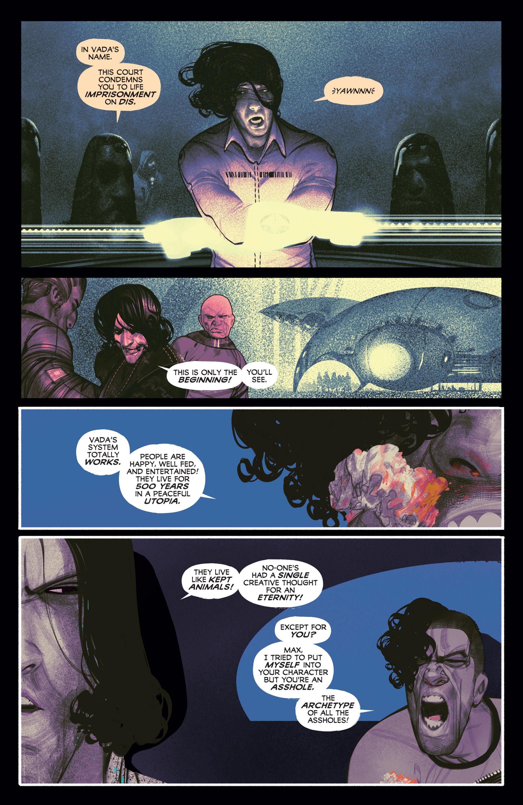 Read online Annihilator comic -  Issue #5 - 20