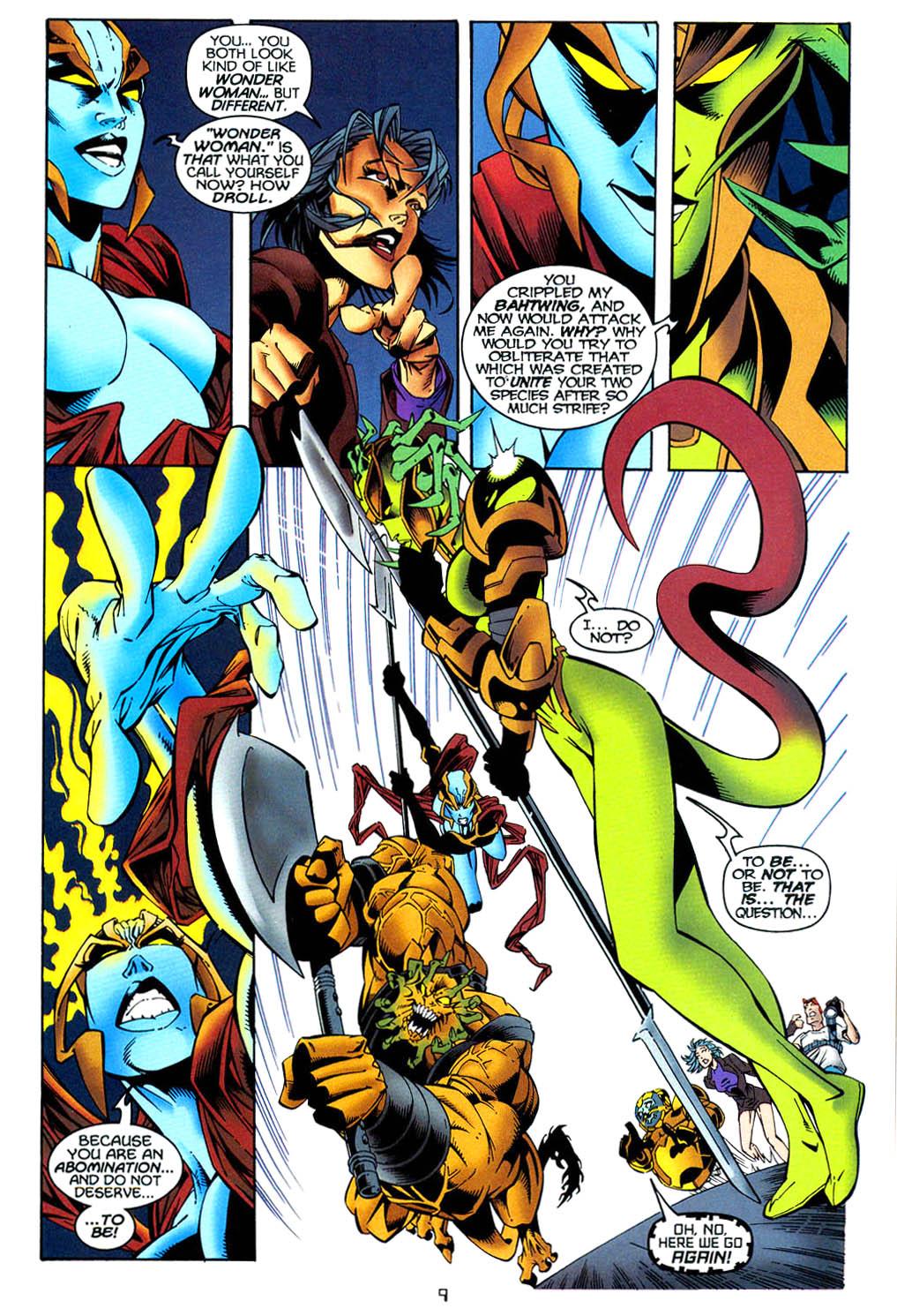Read online Tangent Comics/ Wonder Woman comic -  Issue # Full - 10