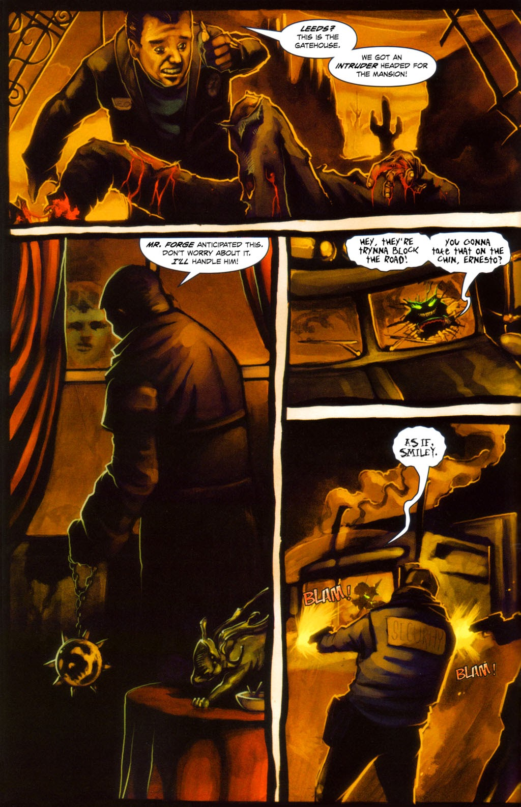 Read online Evil Ernie in Santa Fe comic -  Issue #4 - 5