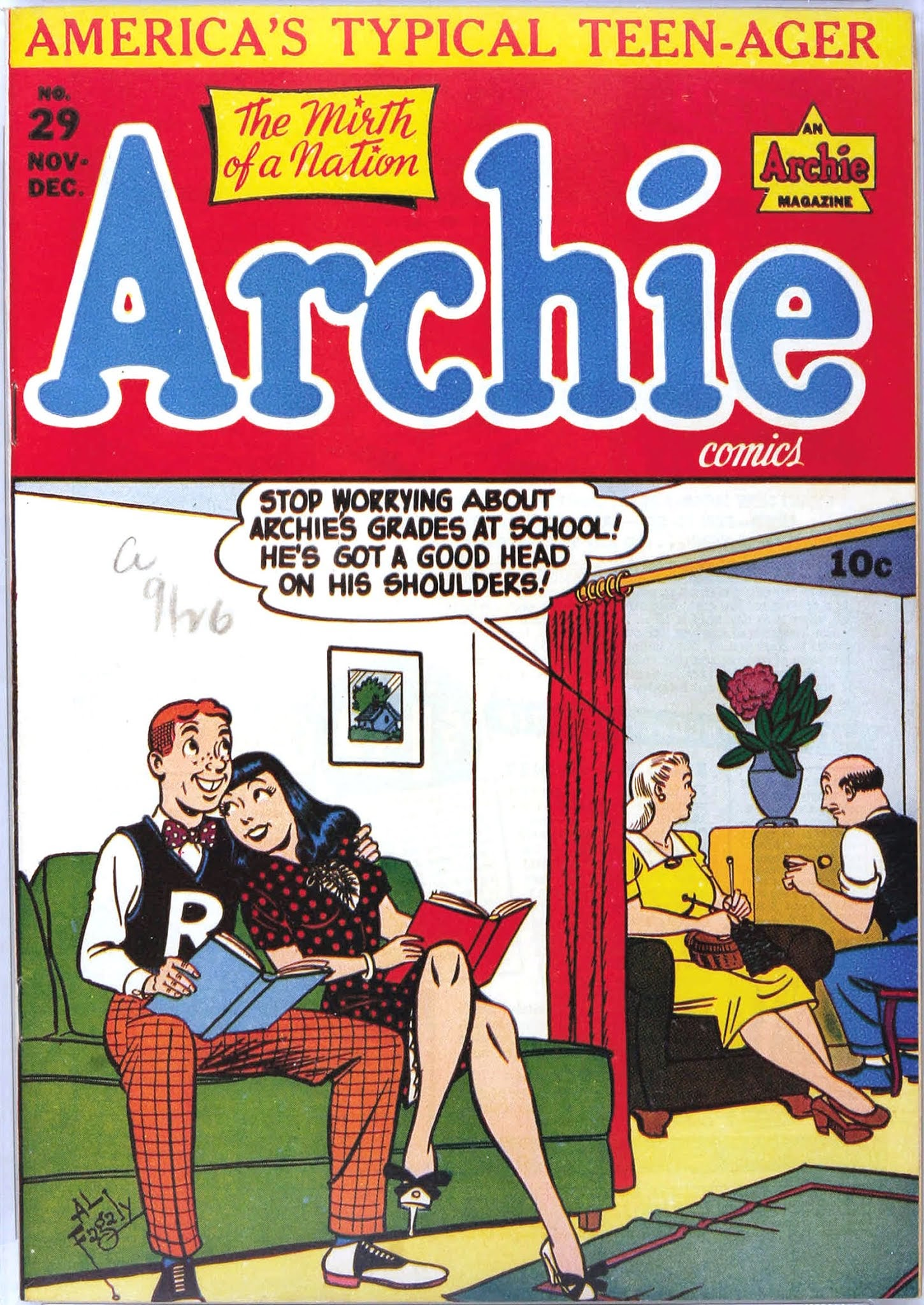Archie Comics issue 029 - Page 1