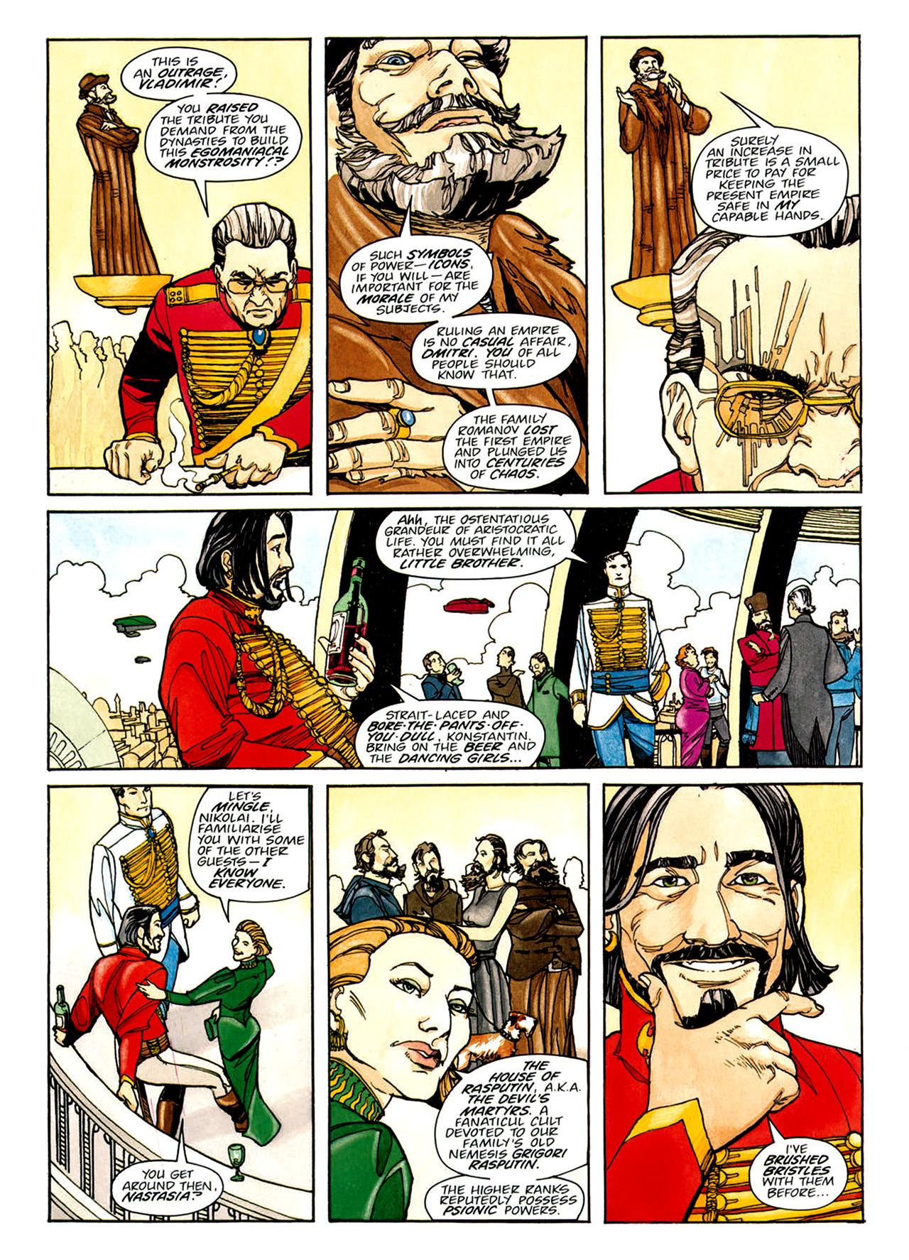 Read online Nikolai Dante comic -  Issue # TPB 1 - 134
