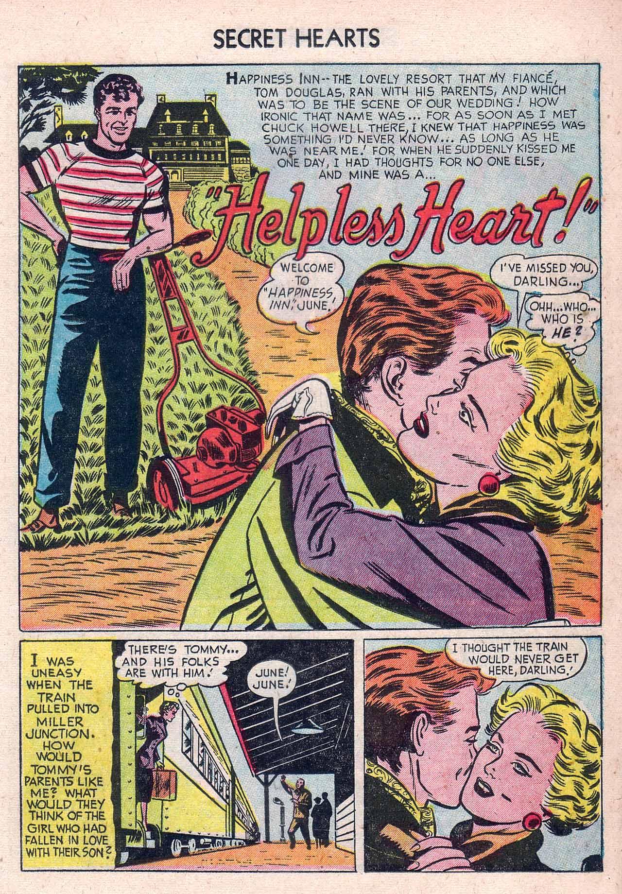 Read online Secret Hearts comic -  Issue #12 - 17