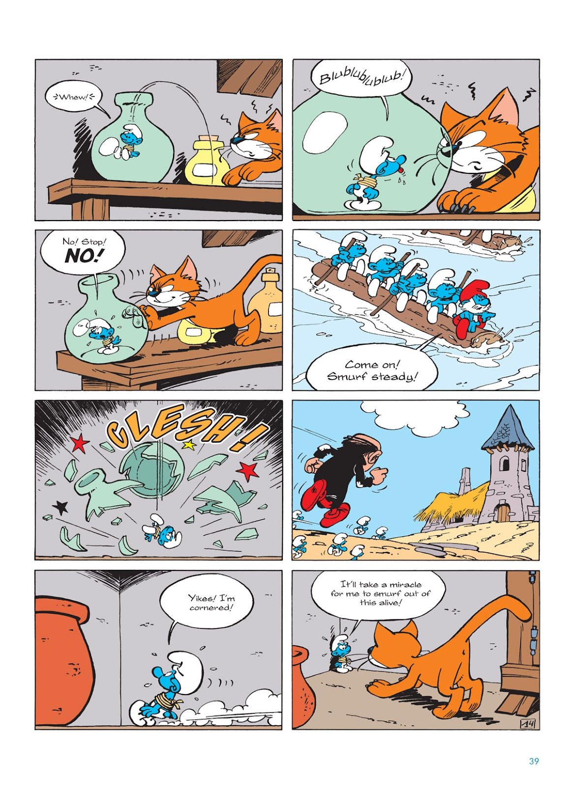 Read online The Smurfs comic -  Issue #9 - 39