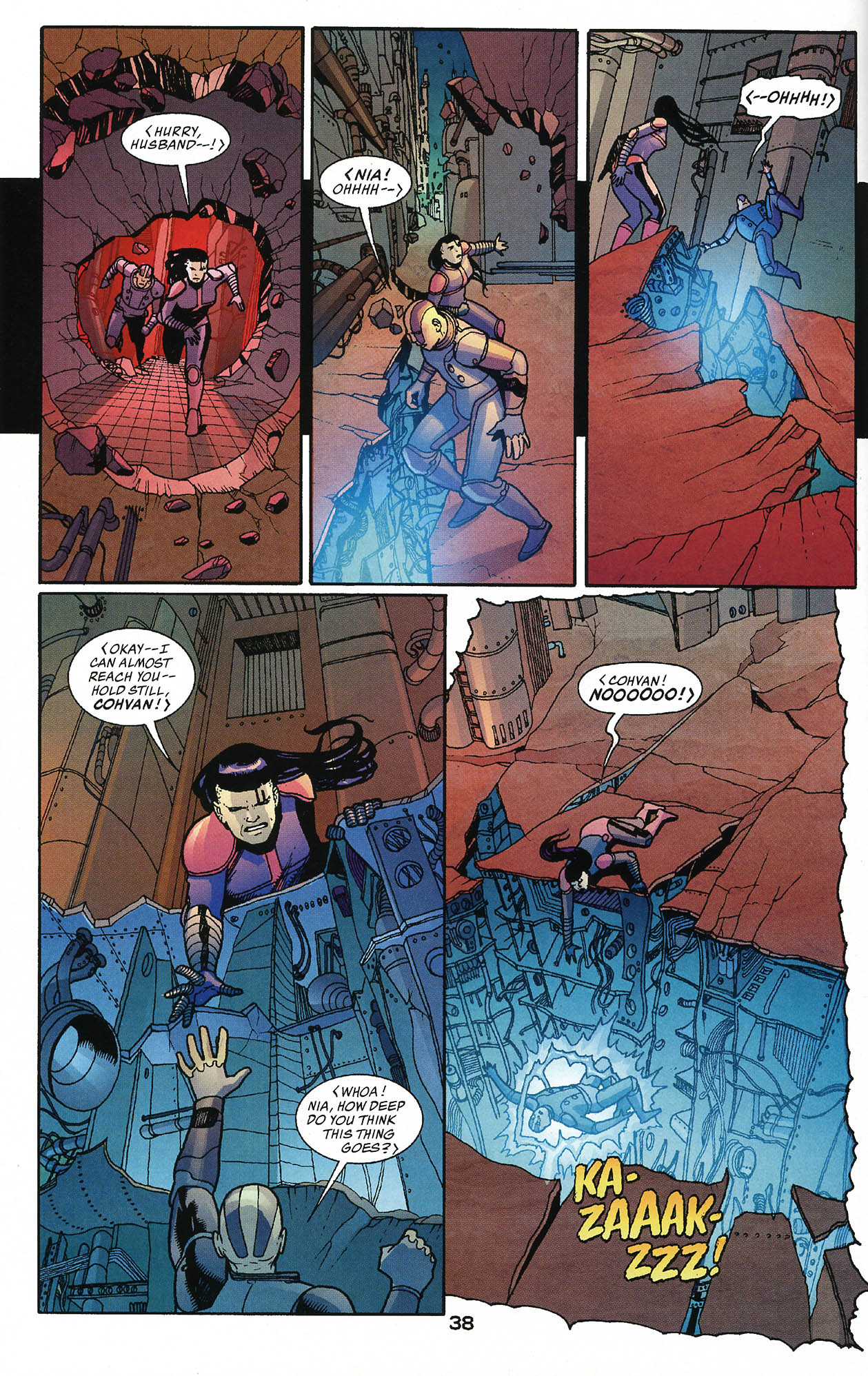 Read online JLA/Haven: Arrival comic -  Issue # Full - 37