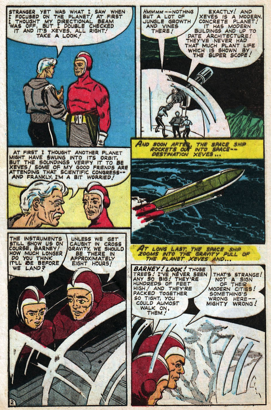Read online Famous Funnies comic -  Issue #192 - 4