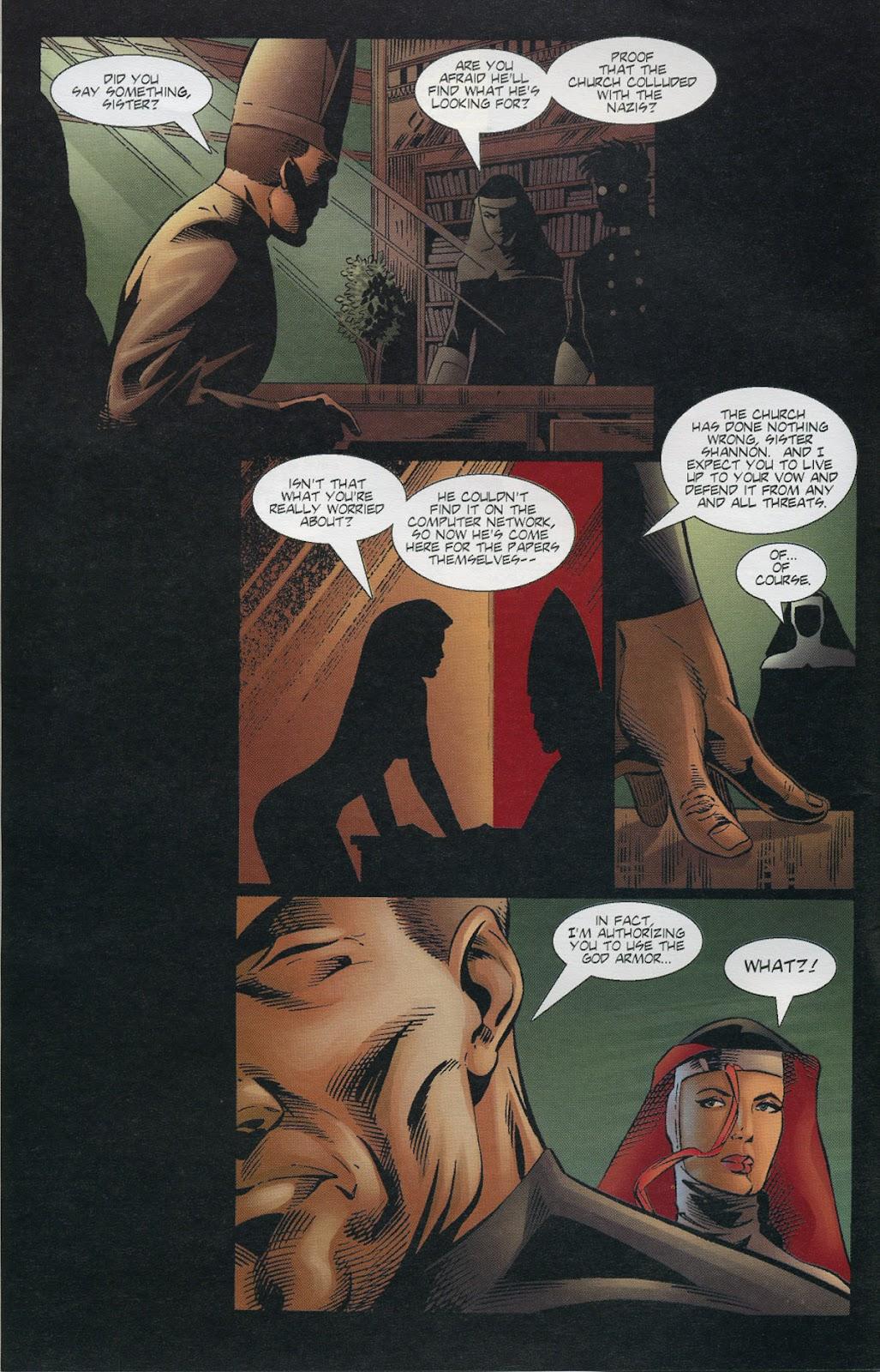 Warrior Nun Areala (1997) Issue #3 #3 - English 4