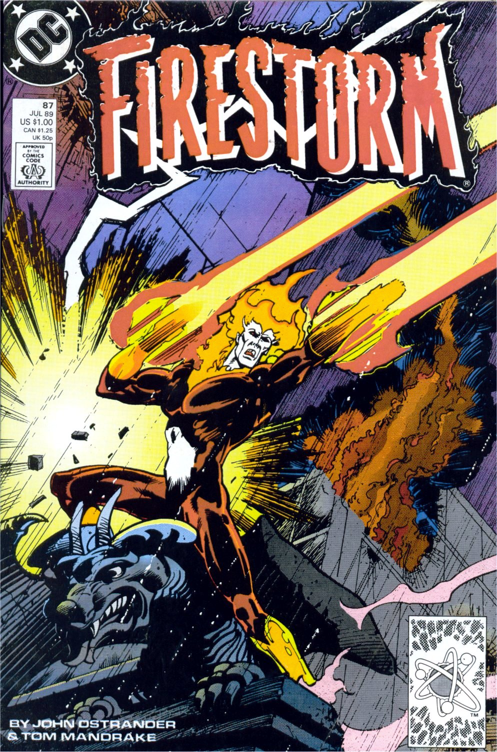 Firestorm, the Nuclear Man 87 Page 1