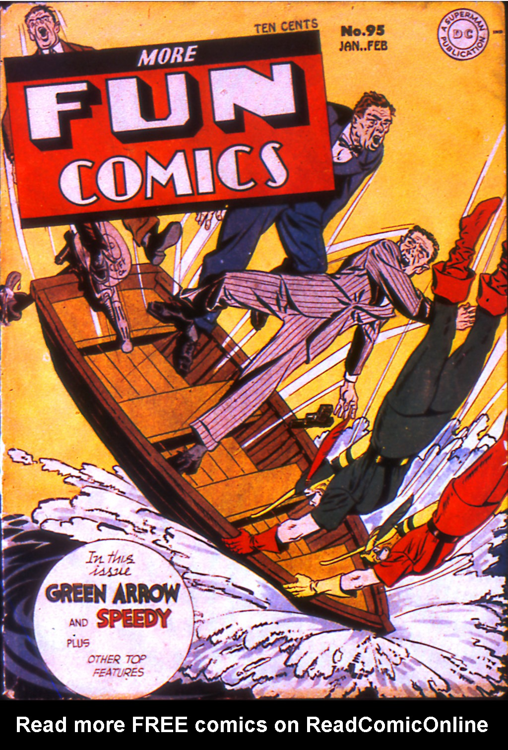 More Fun Comics 95 Page 1