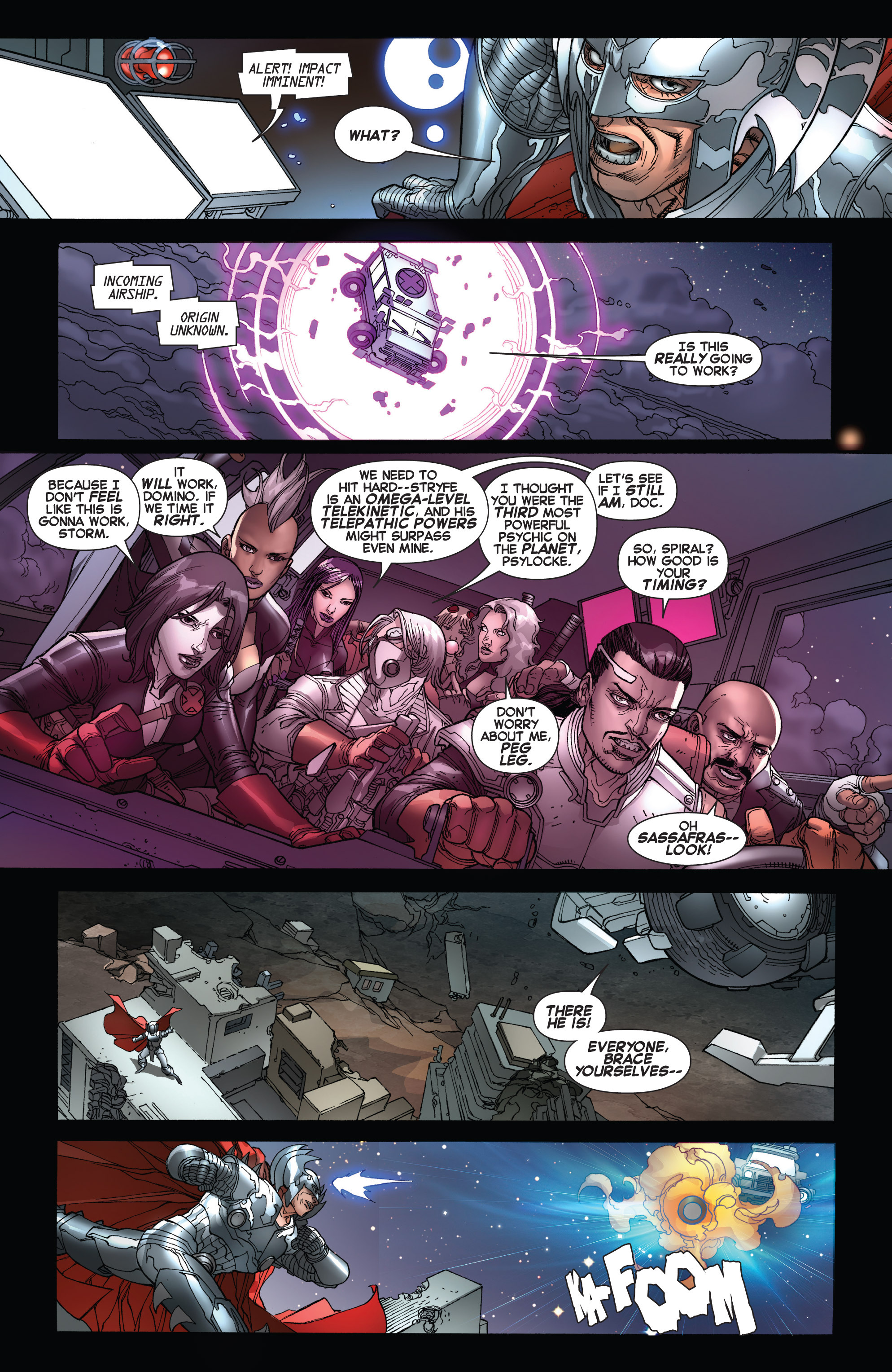 Read online Uncanny X-Force (2013) comic -  Issue #17 - 6