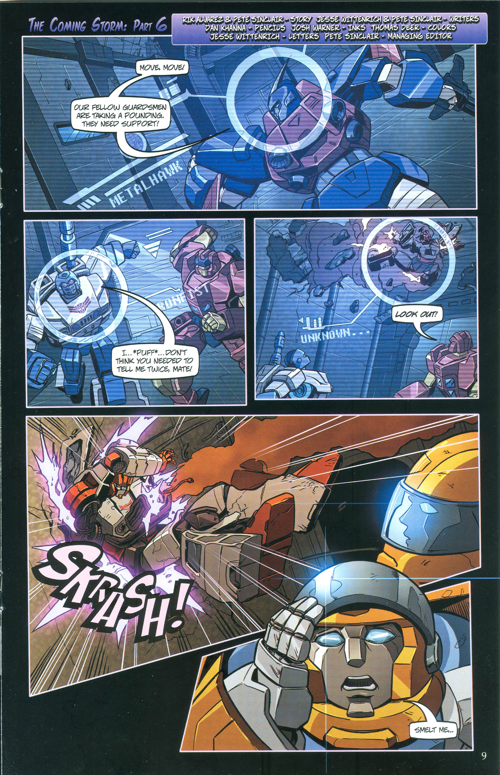 Read online Transformers: Collectors' Club comic -  Issue #36 - 9