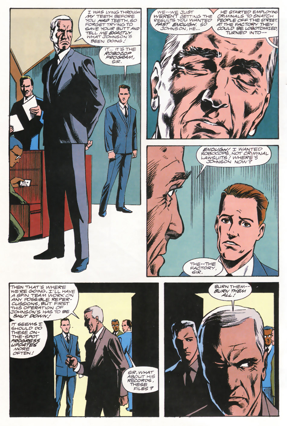 Read online Robocop (1990) comic -  Issue #15 - 12