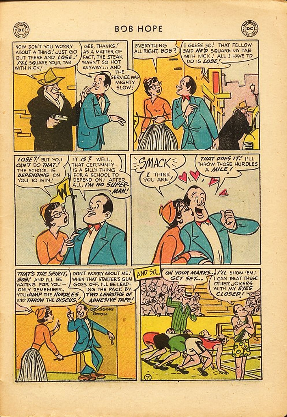 The Adventures of Bob Hope issue 42 - Page 31