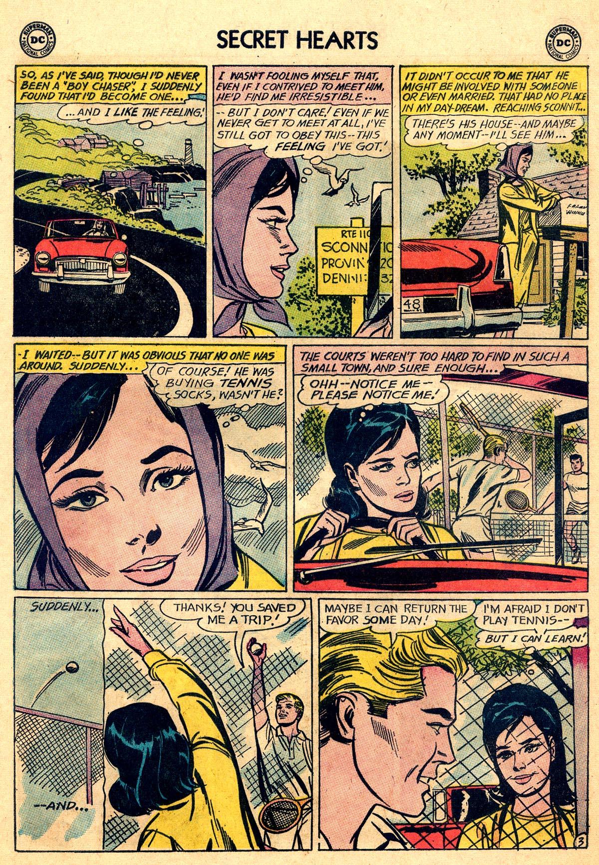 Read online Secret Hearts comic -  Issue #93 - 20