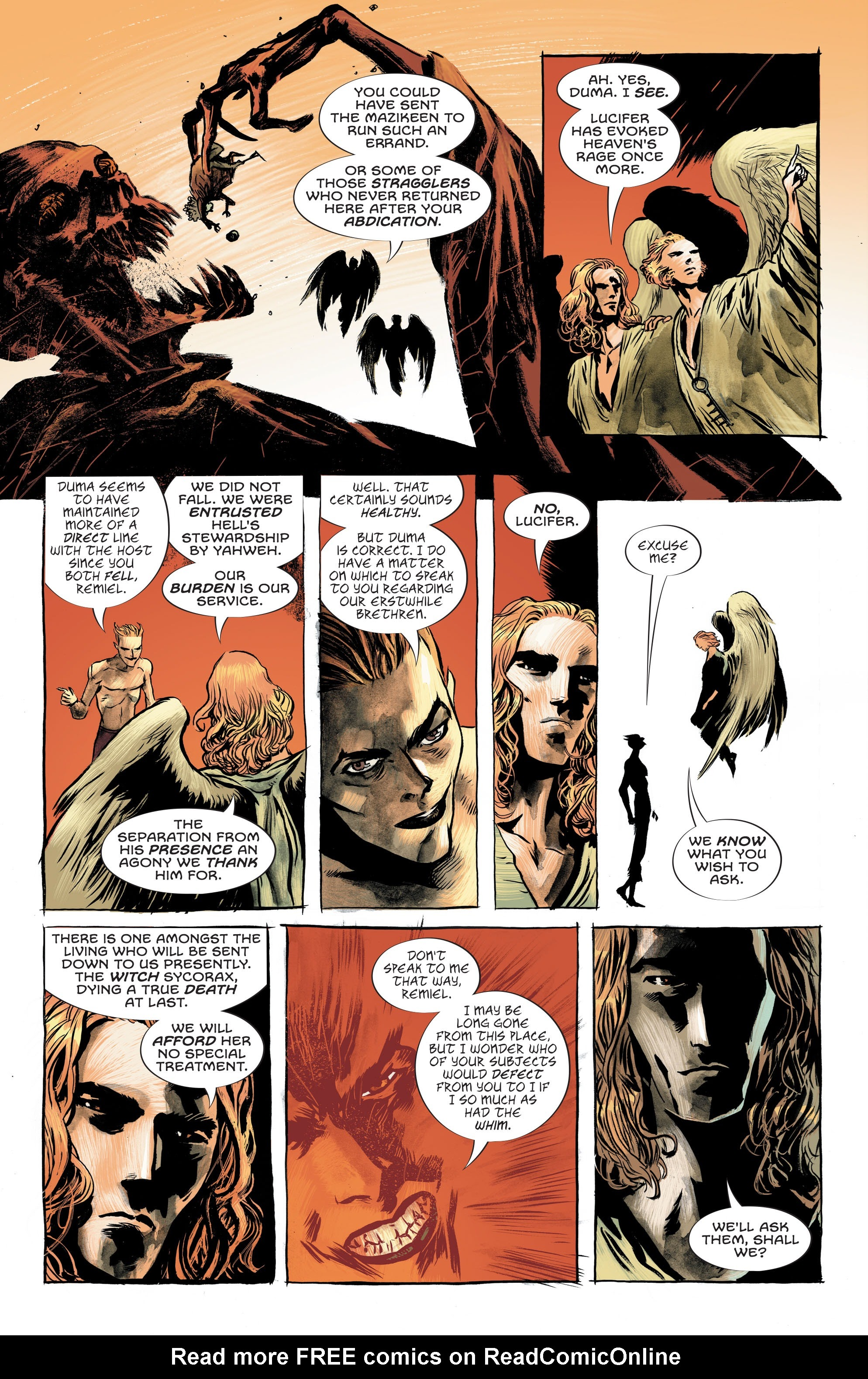 Read online Lucifer (2018) comic -  Issue #7 - 10