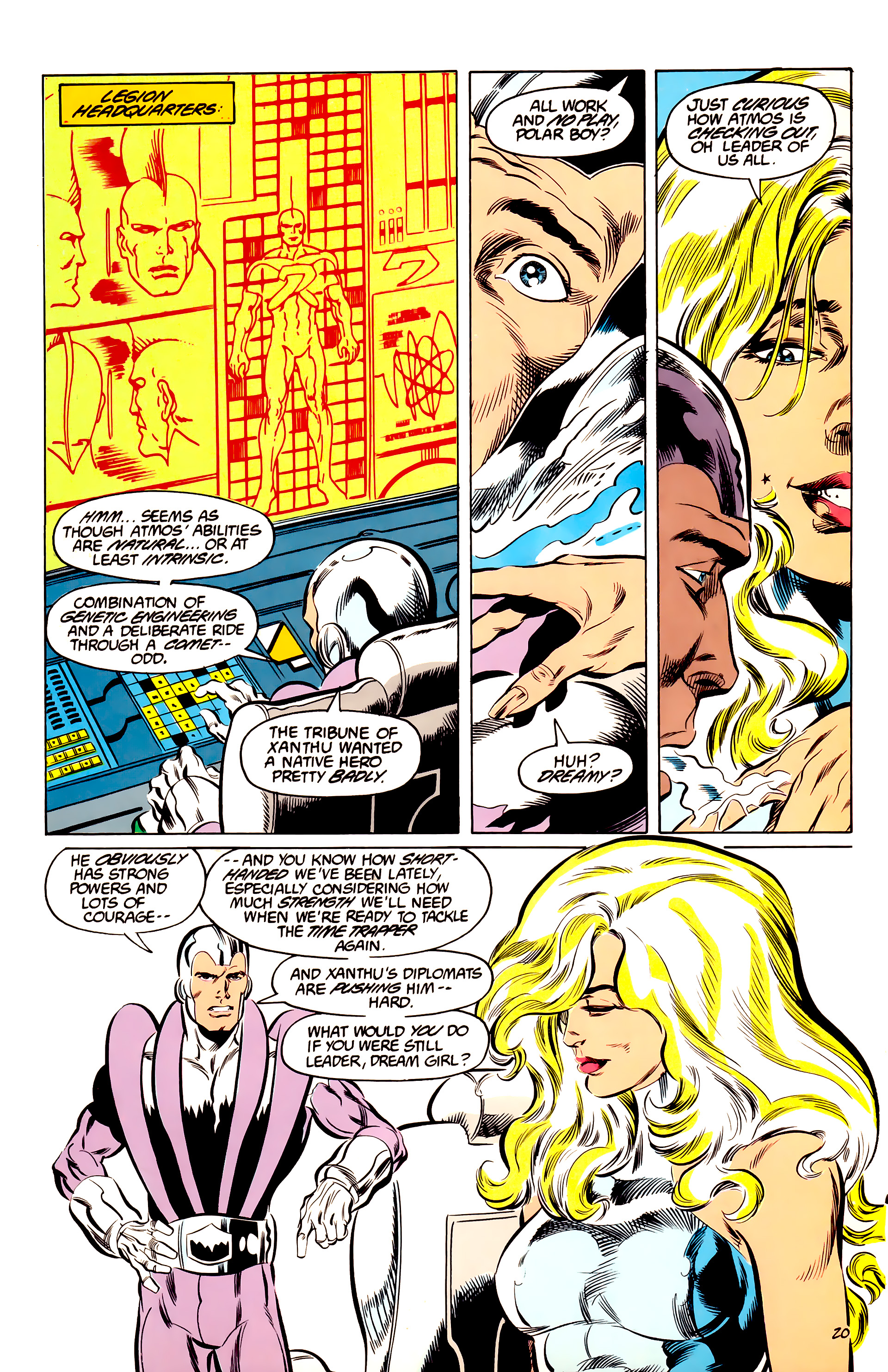 Legion of Super-Heroes (1984) 44 Page 20