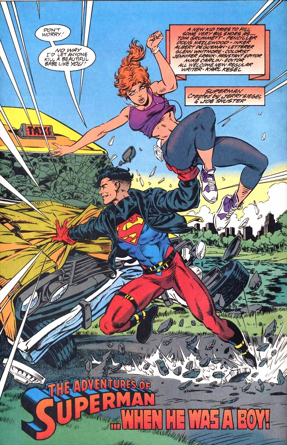 Read online Adventures of Superman (1987) comic -  Issue #501 - 5