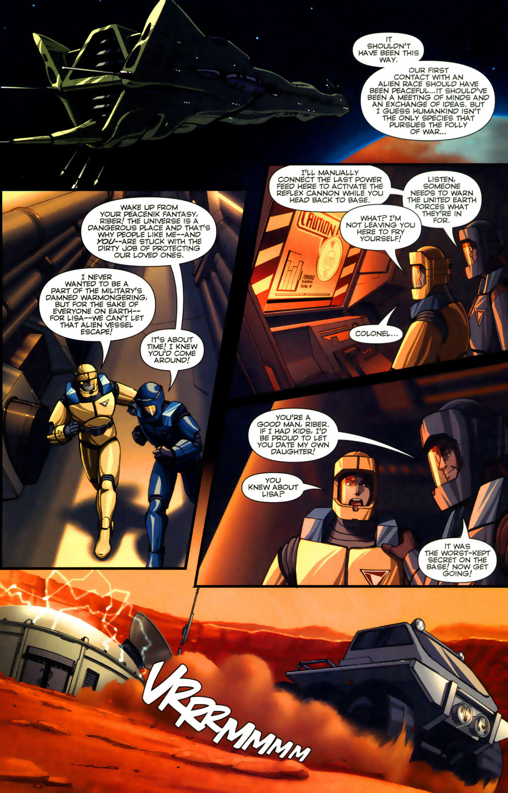 Read online Robotech: Invasion comic -  Issue #5 - 17