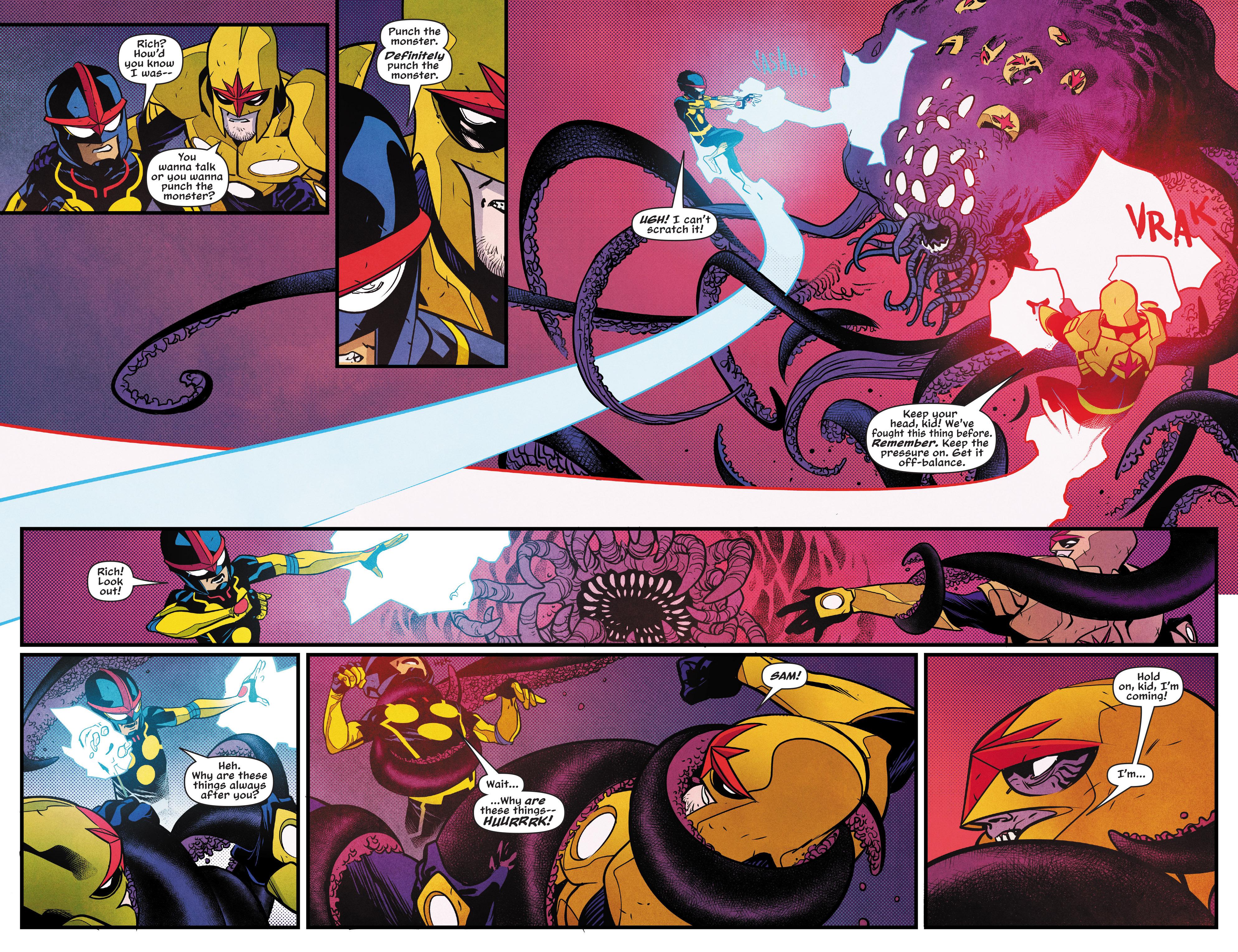 Read online Nova (2017) comic -  Issue #5 - 10