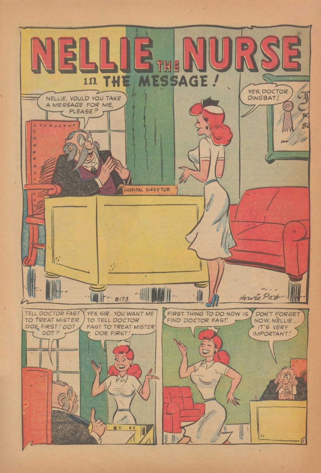Nellie The Nurse (1945) issue 28 - Page 8