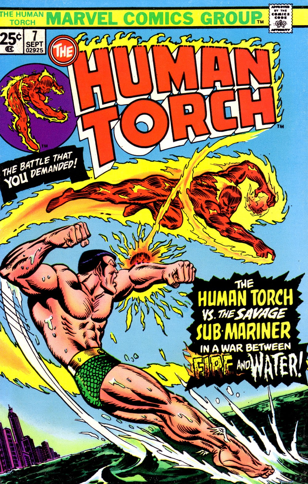 The Human Torch (1974) 7 Page 1