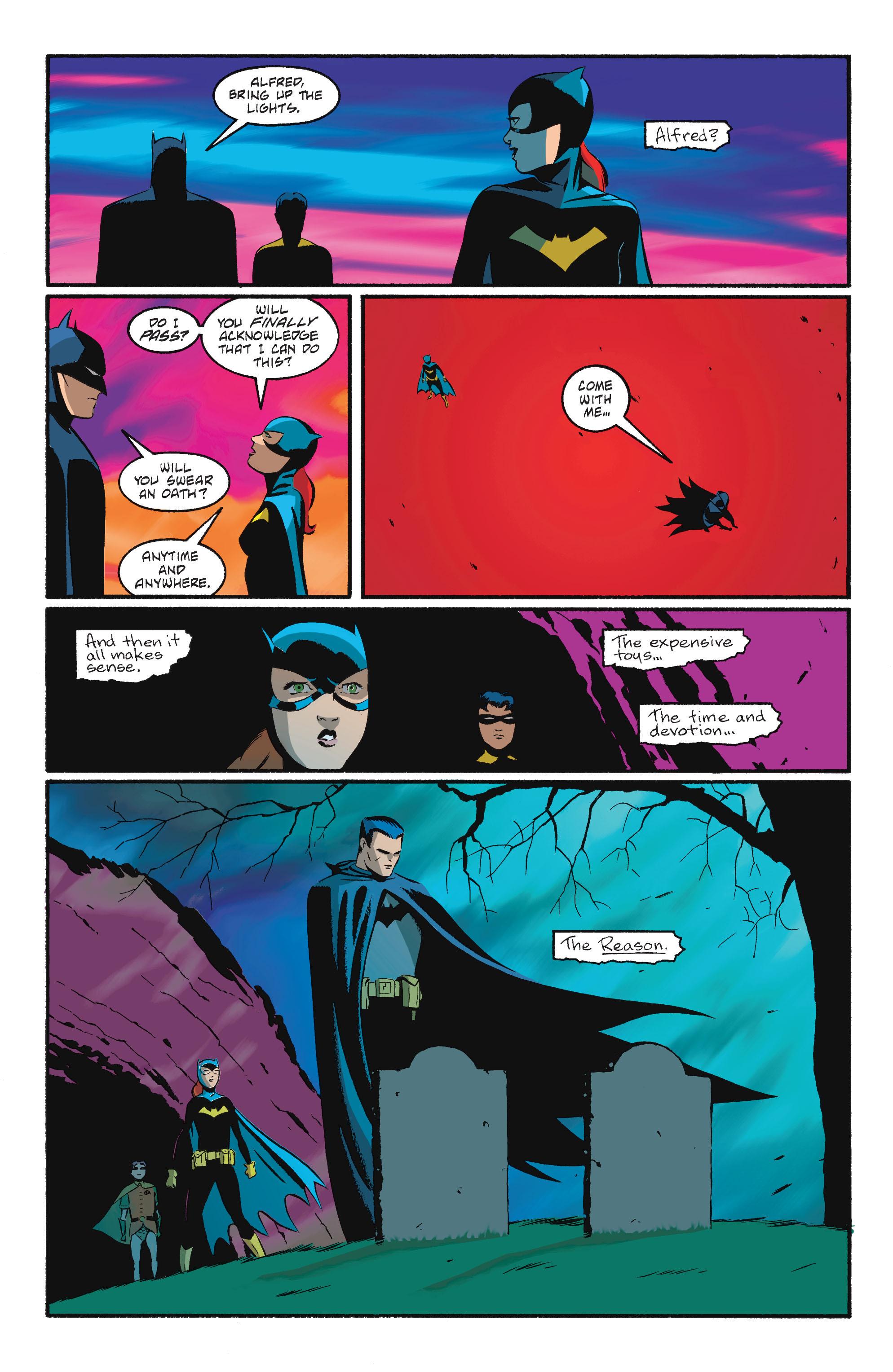 Read online Batgirl/Robin: Year One comic -  Issue # TPB 2 - 194