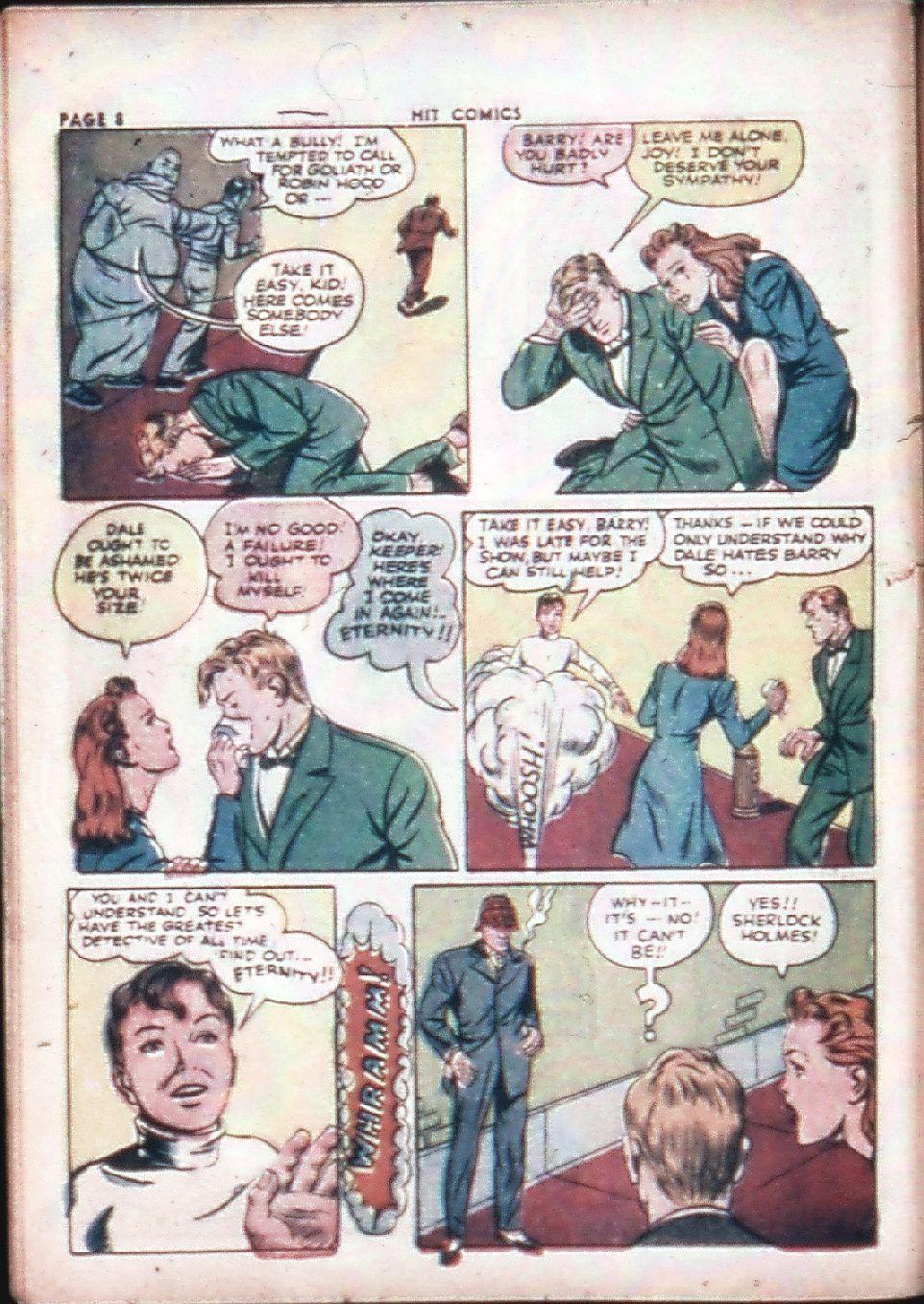 Read online Hit Comics comic -  Issue #29 - 10