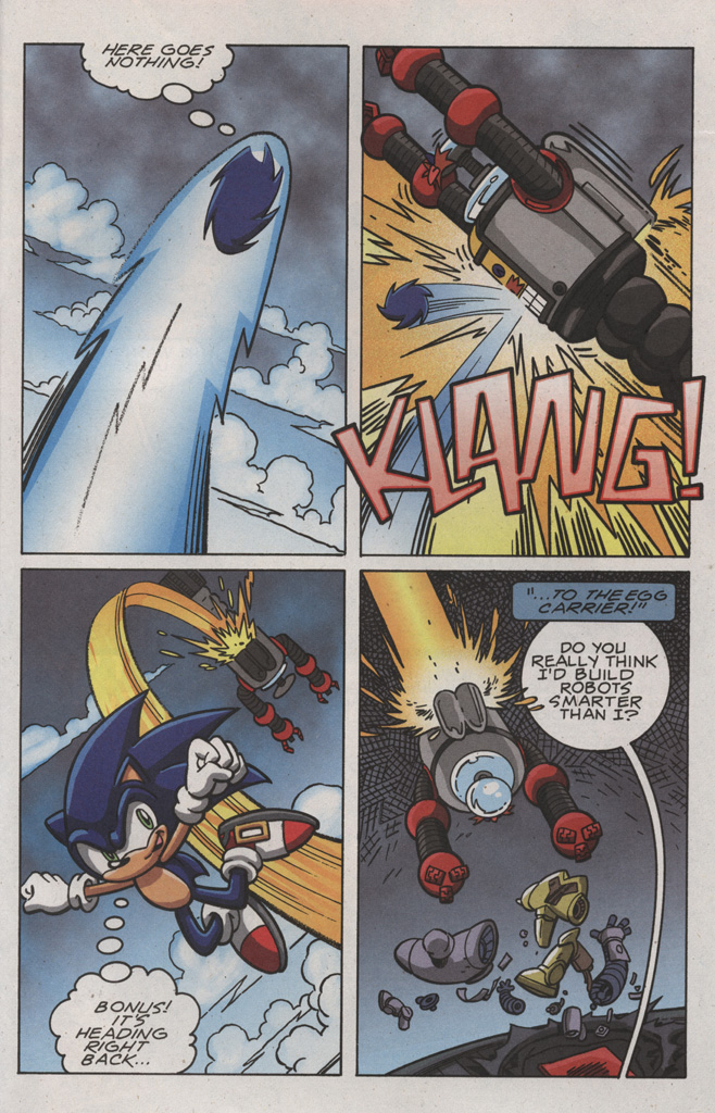Read online Sonic X comic -  Issue #22 - 33