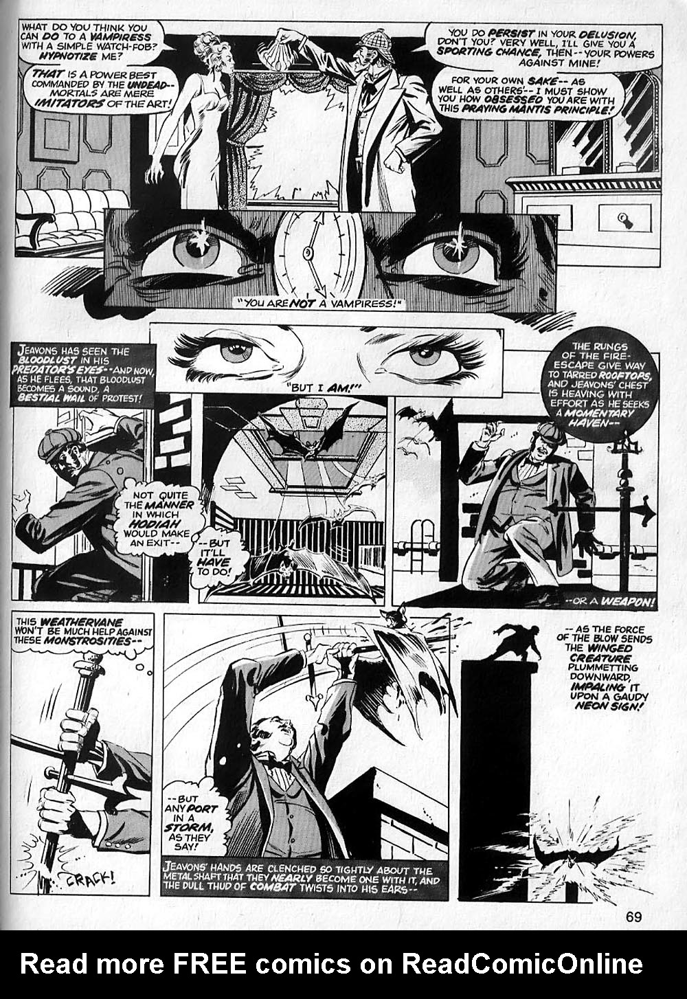 Vampire Tales issue 2 - Page 70