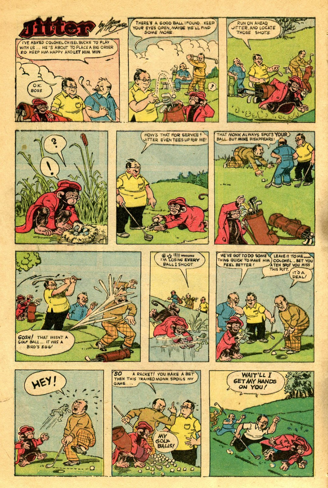 Read online Famous Funnies comic -  Issue #122 - 40