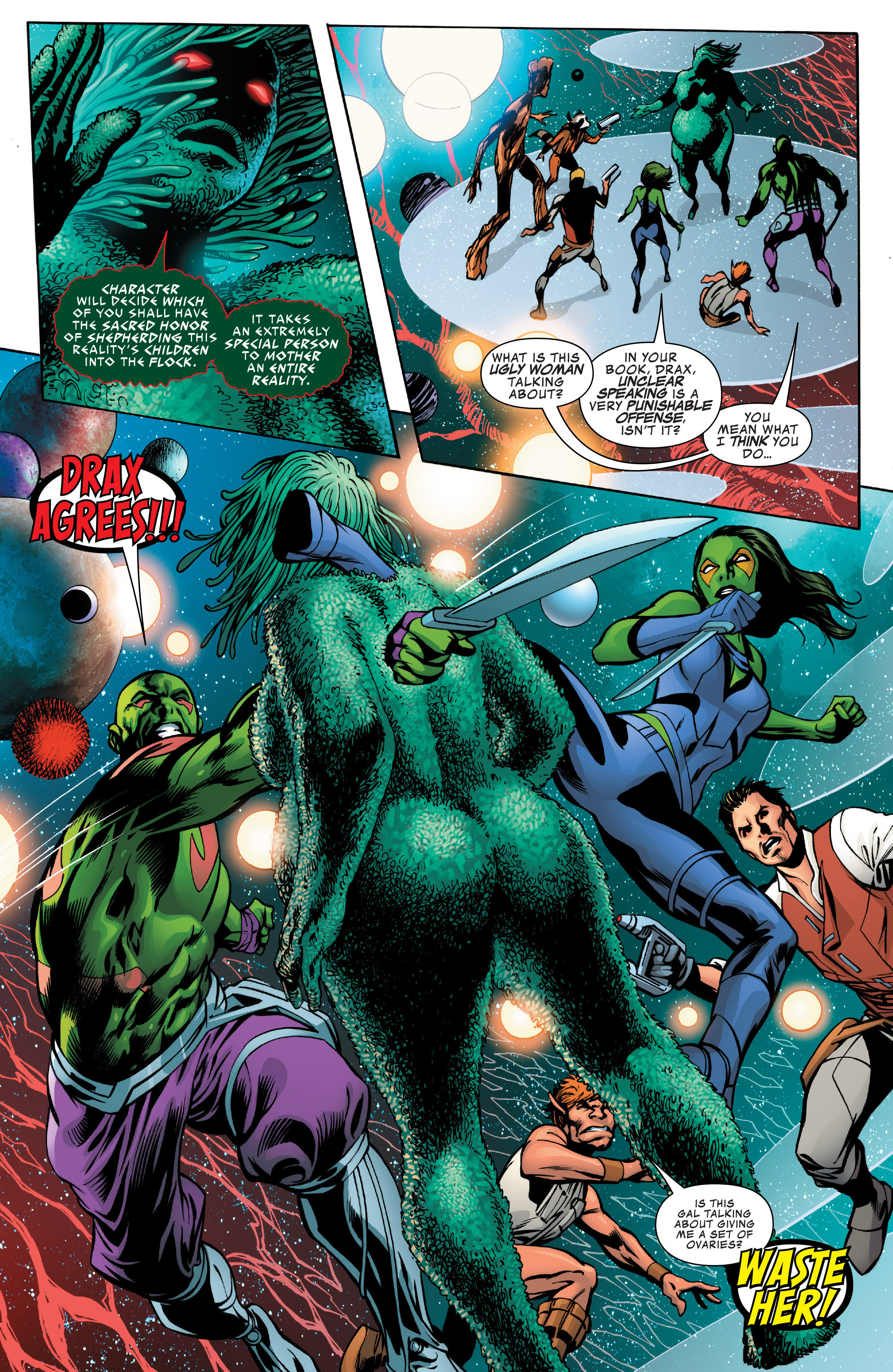 Read online Guardians of the Galaxy: Mother Entropy comic -  Issue #2 - 6