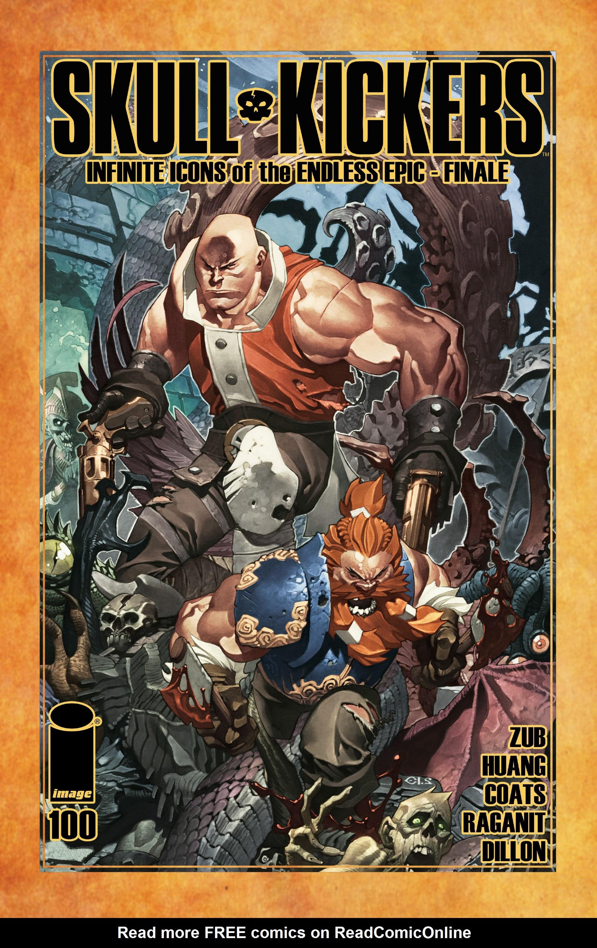 Read online Skullkickers comic -  Issue #100 - 1