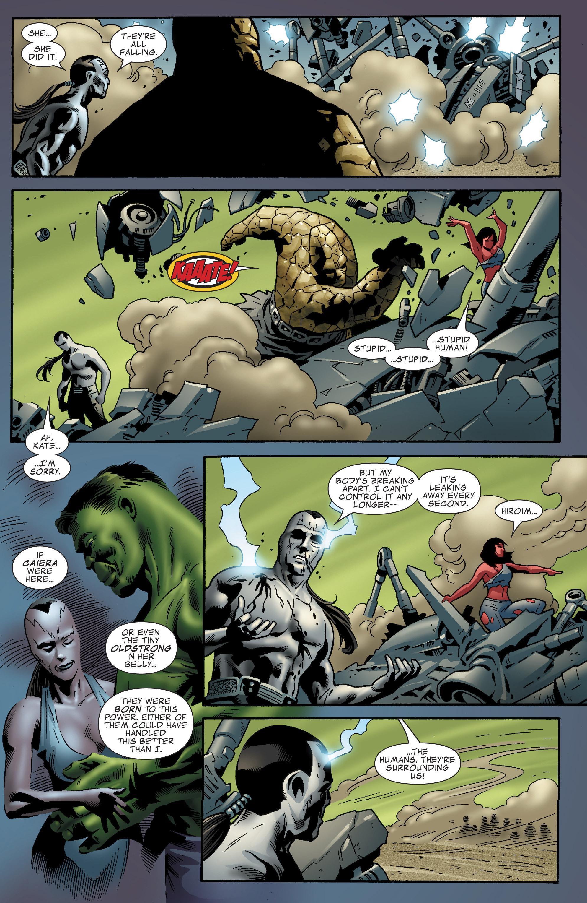 Read online World War Hulk Aftersmash: Warbound, Vol. 1 comic -  Issue #5 - 10