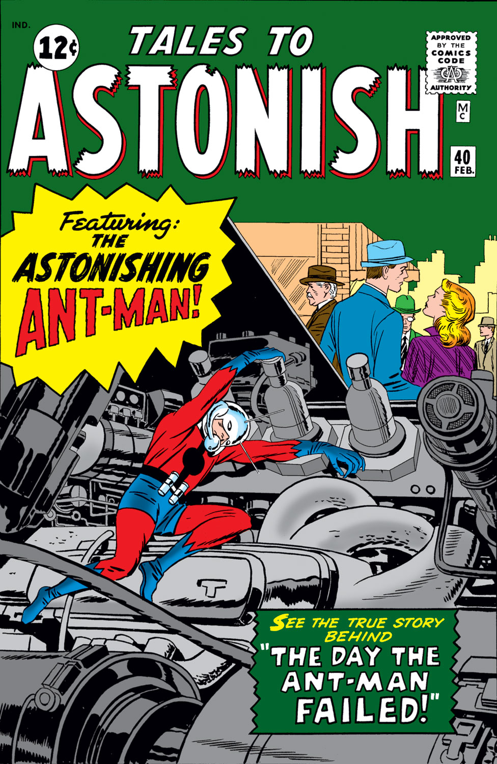 Tales to Astonish (1959) issue 40 - Page 1