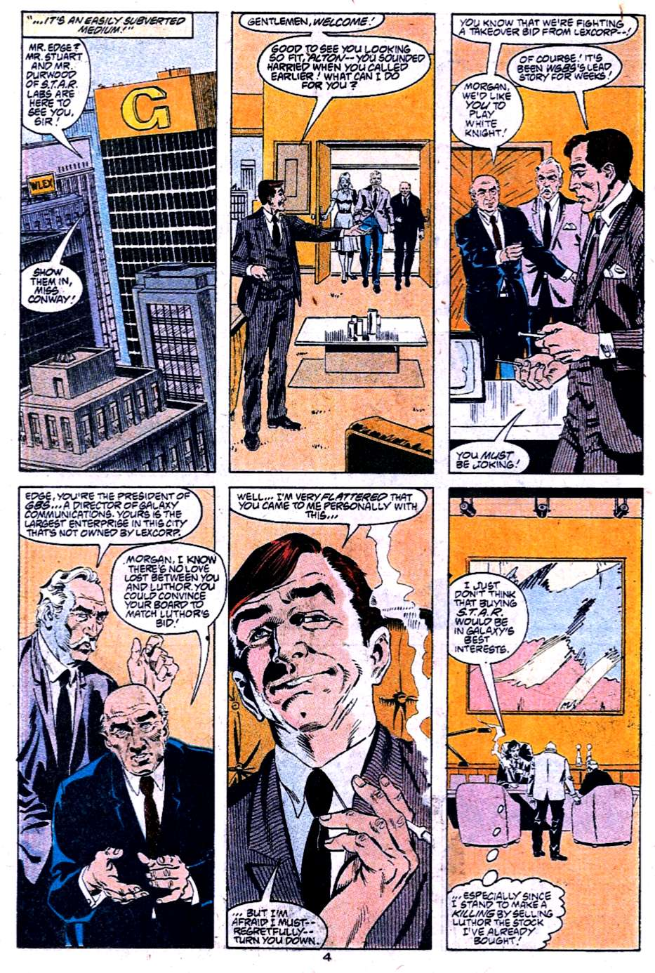 Read online Adventures of Superman (1987) comic -  Issue #454 - 19