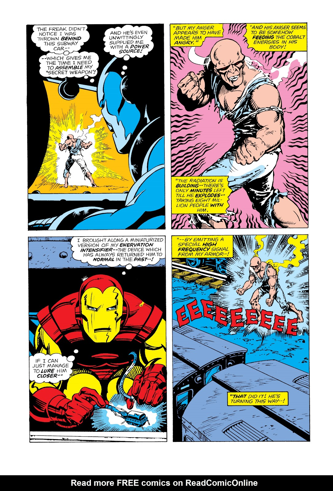 Read online Marvel Masterworks: The Invincible Iron Man comic -  Issue # TPB 11 (Part 1) - 82