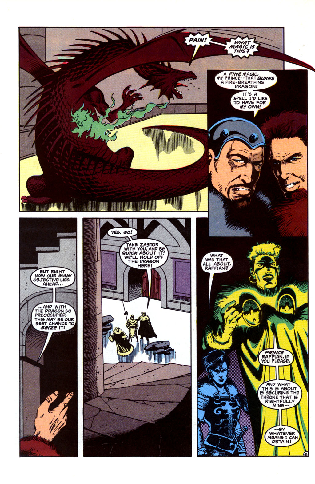 Read online Advanced Dungeons & Dragons comic -  Issue #26 - 6