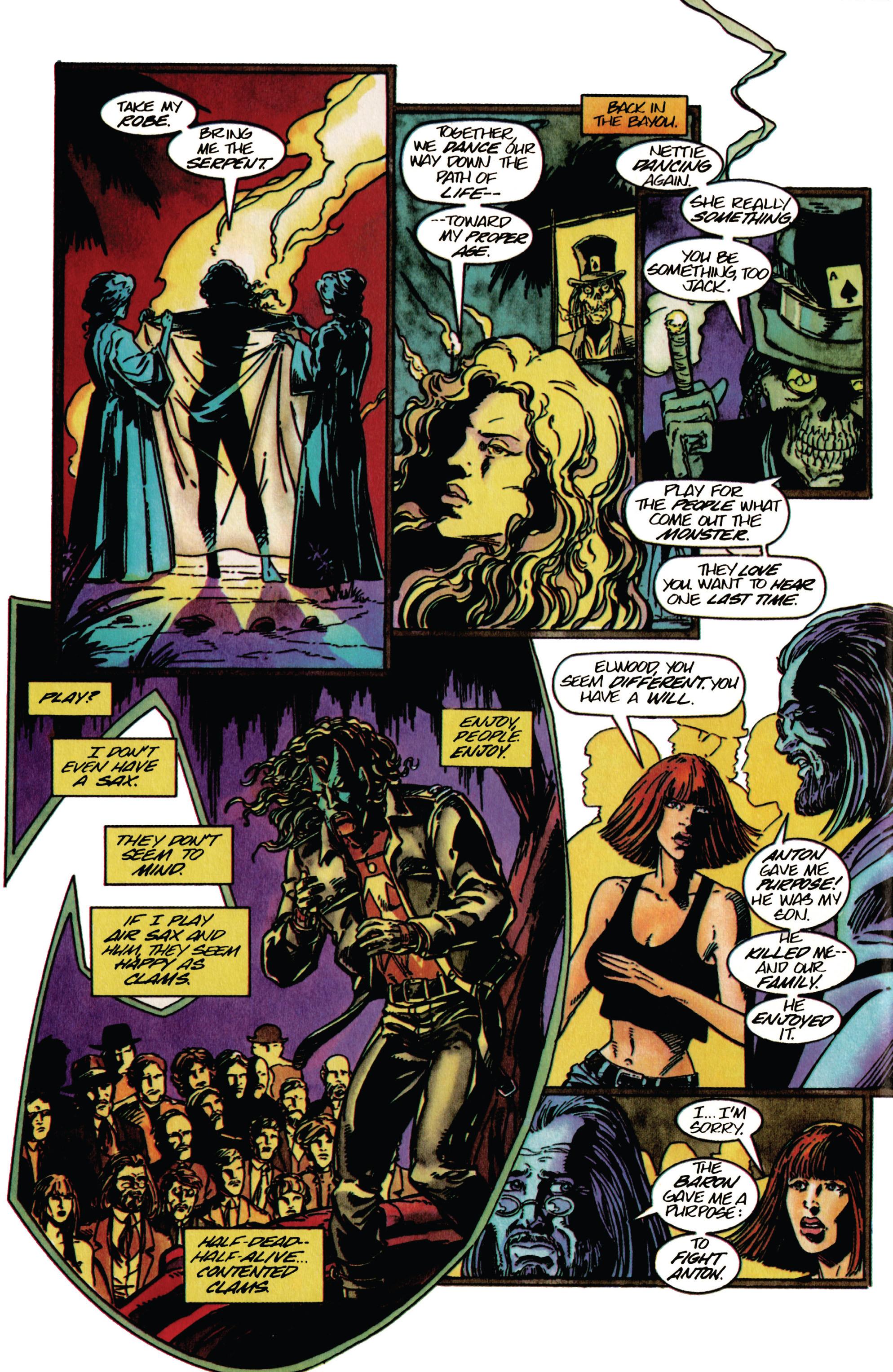 Read online Shadowman (1992) comic -  Issue #33 - 16