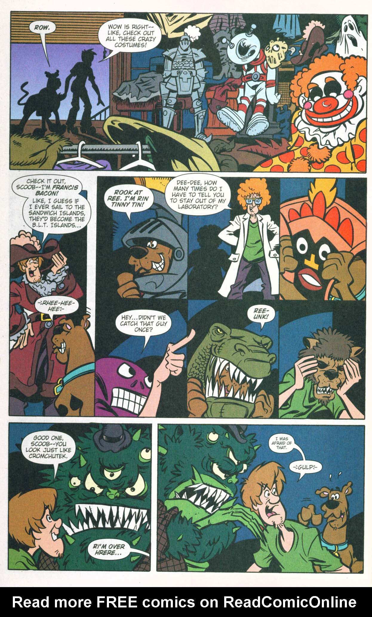 Read online Scooby-Doo (1997) comic -  Issue #83 - 10