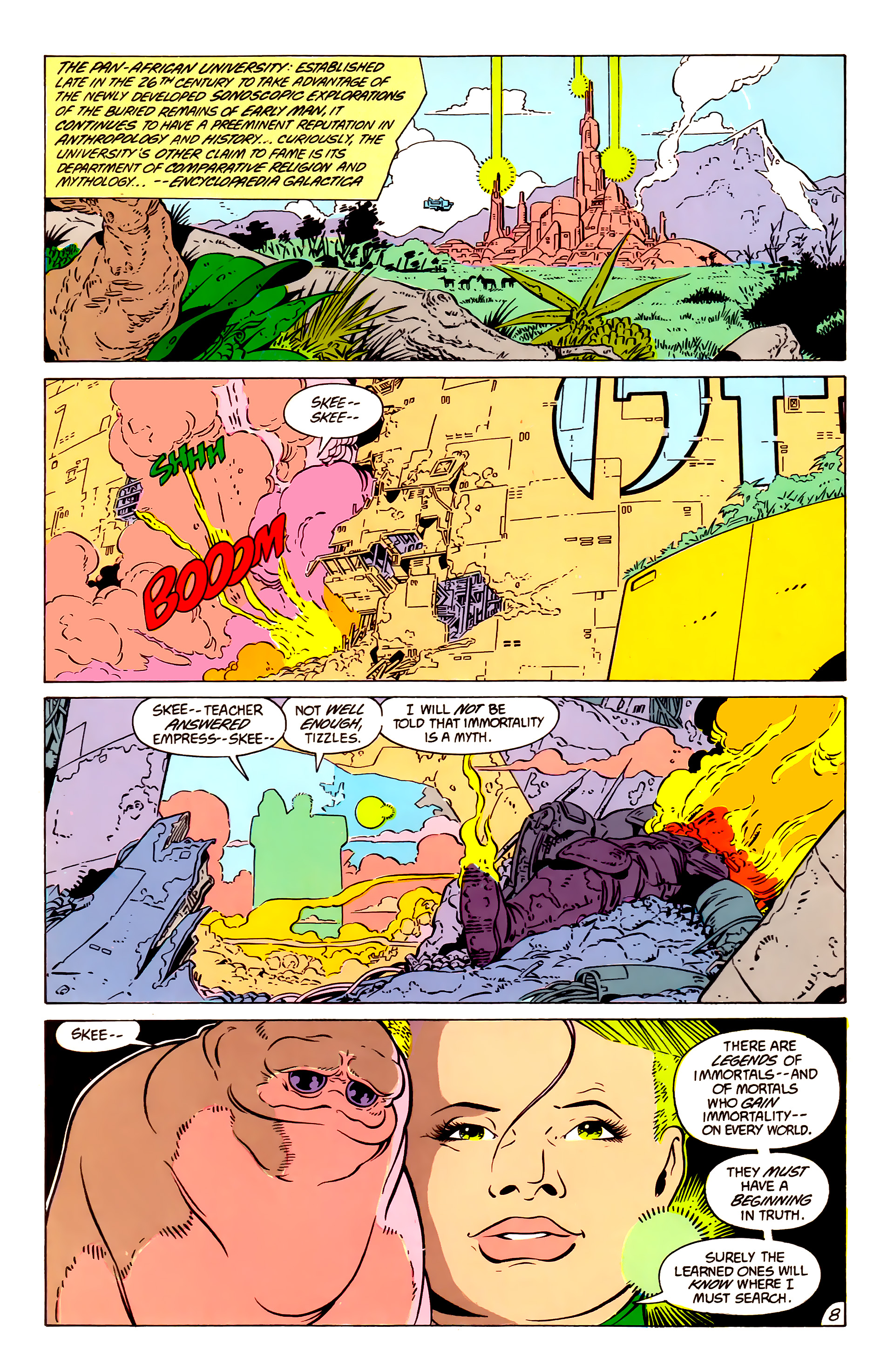 Legion of Super-Heroes (1984) 57 Page 8