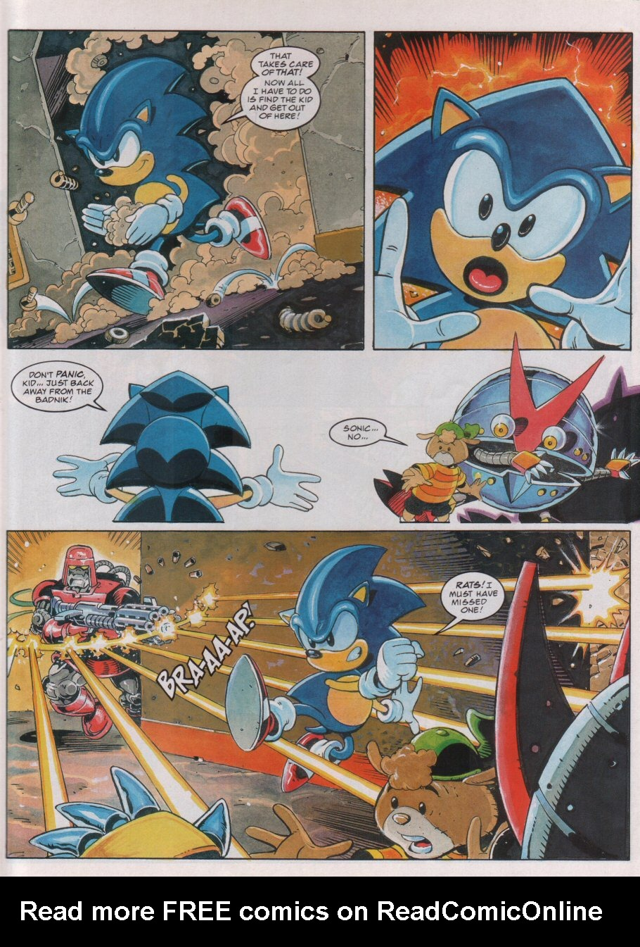 Read online Sonic the Comic comic -  Issue #75 - 6