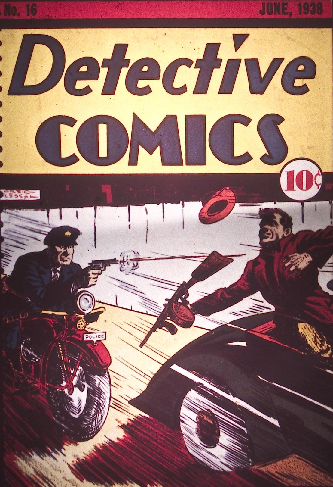 Read online Detective Comics (1937) comic -  Issue #16 - 1