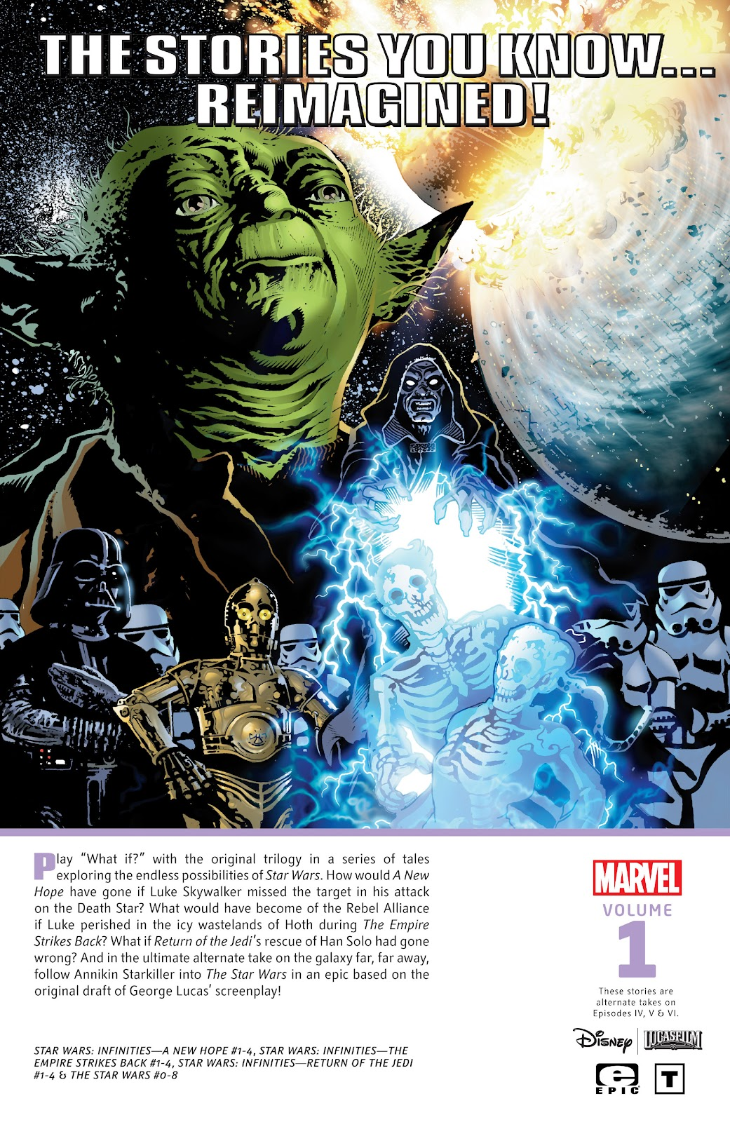 Read online Star Wars Legends: Infinities - Epic Collection comic -  Issue # TPB (Part 5) - 128