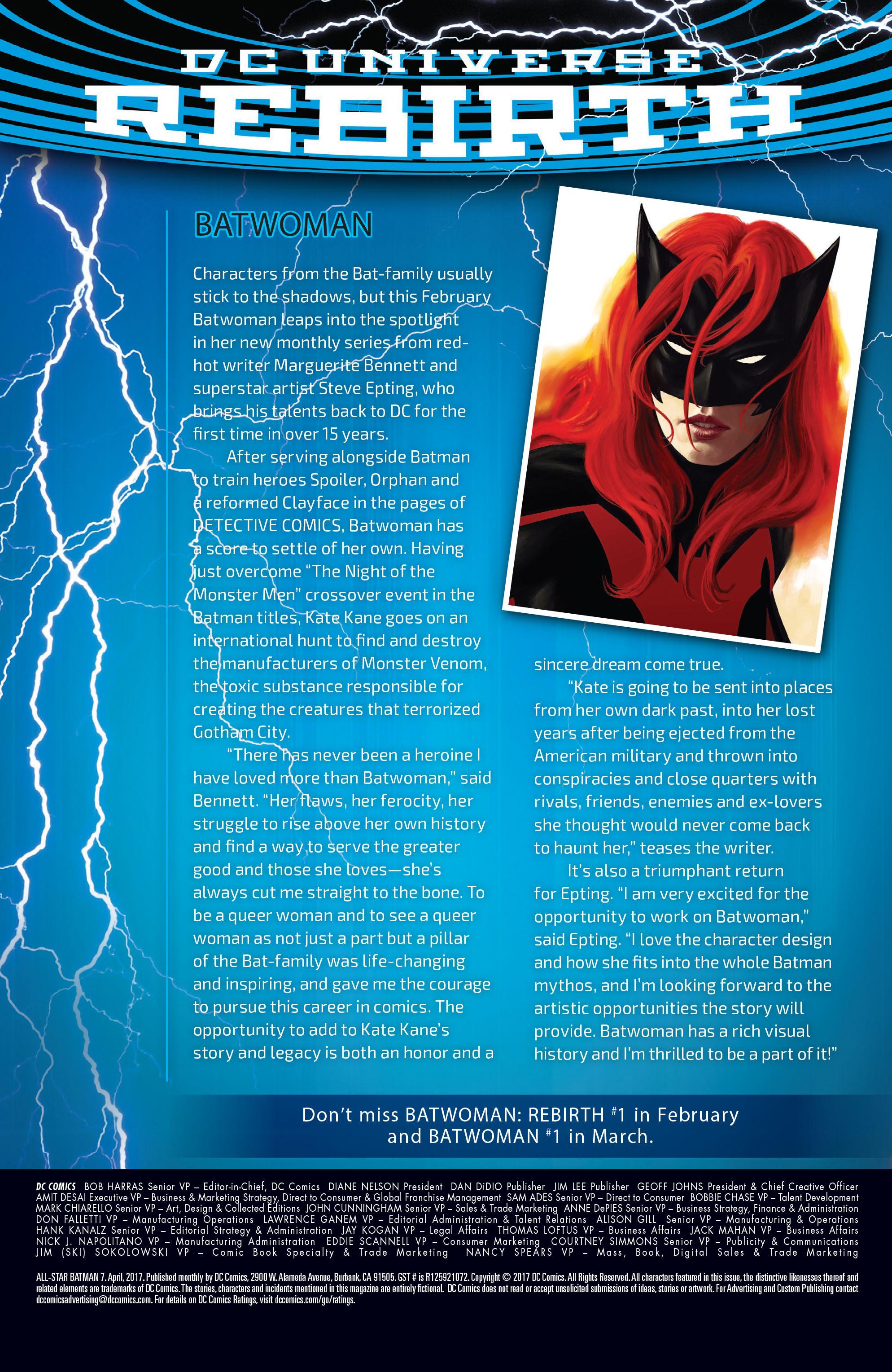 Read online All-Star Batman comic -  Issue #7 - 41