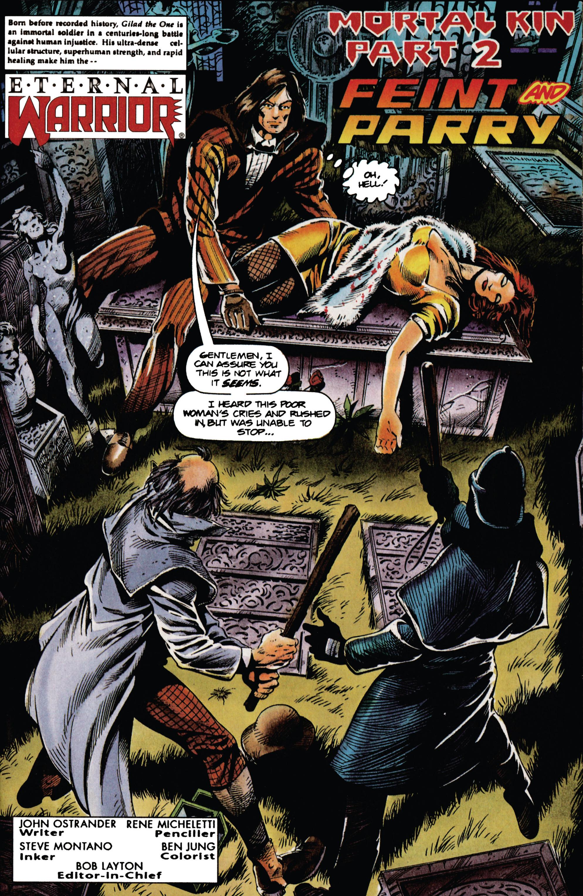 Read online Eternal Warrior (1992) comic -  Issue #34 - 2