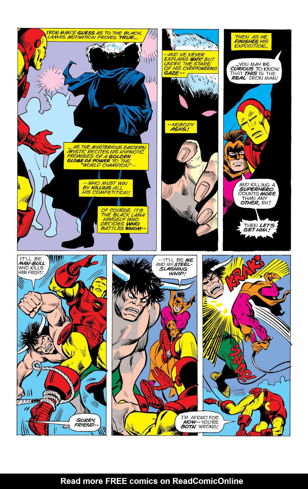 Read online Marvel Masterworks: The Invincible Iron Man comic -  Issue # TPB 10 (Part 1) - 92