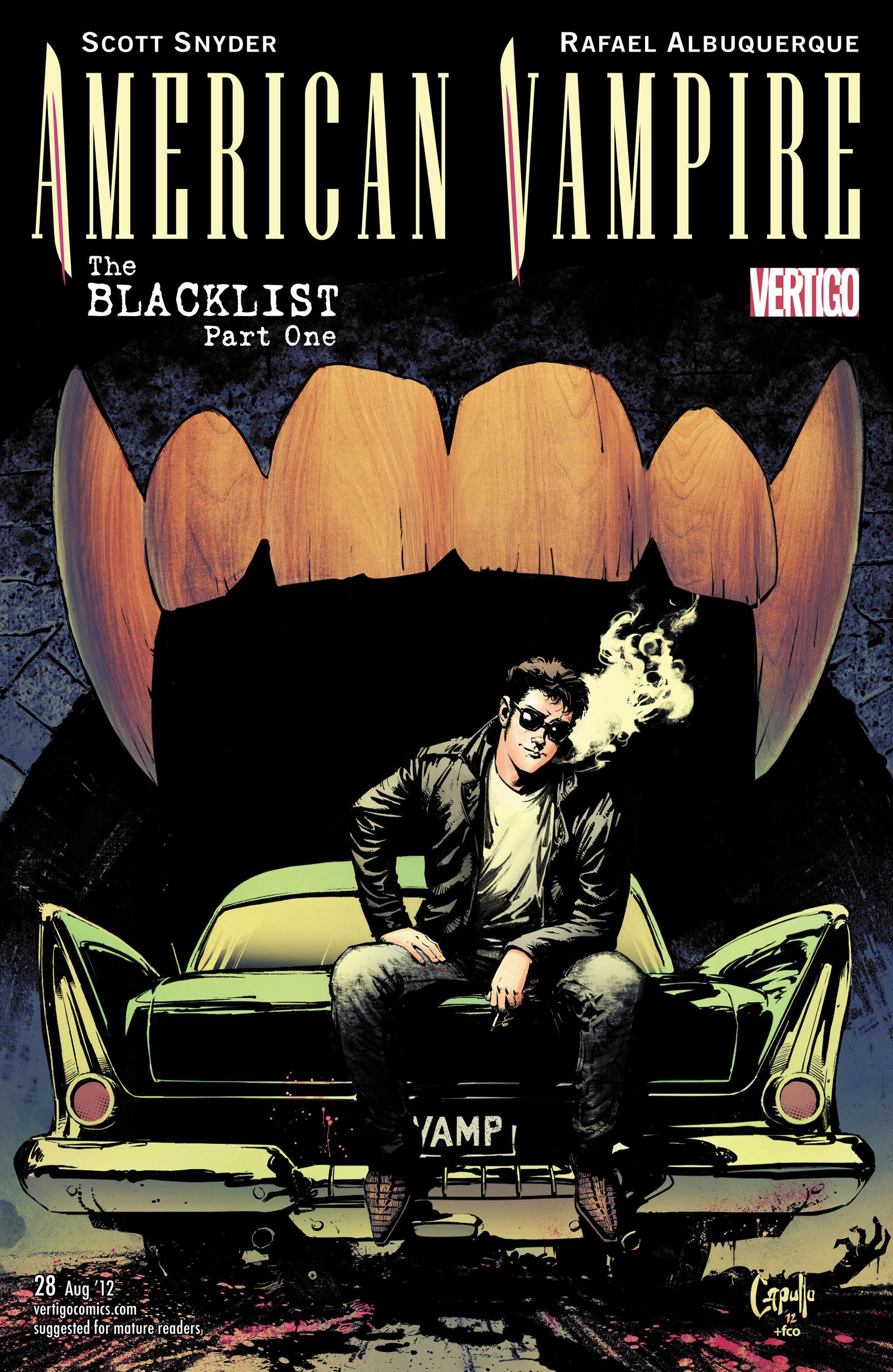 Read online American Vampire comic -  Issue #28 - 21