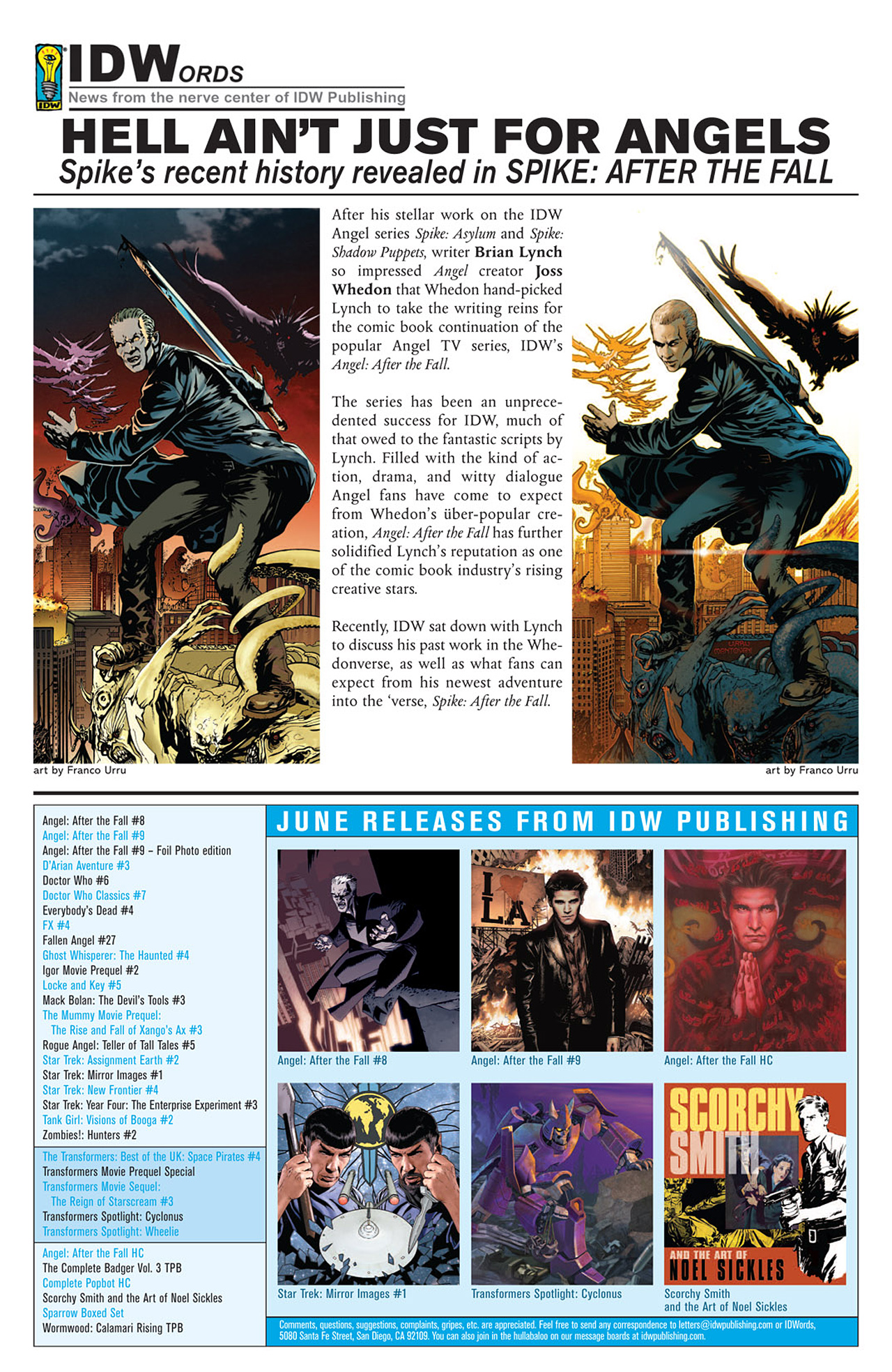 Read online Angel: After The Fall comic -  Issue #9 - 27